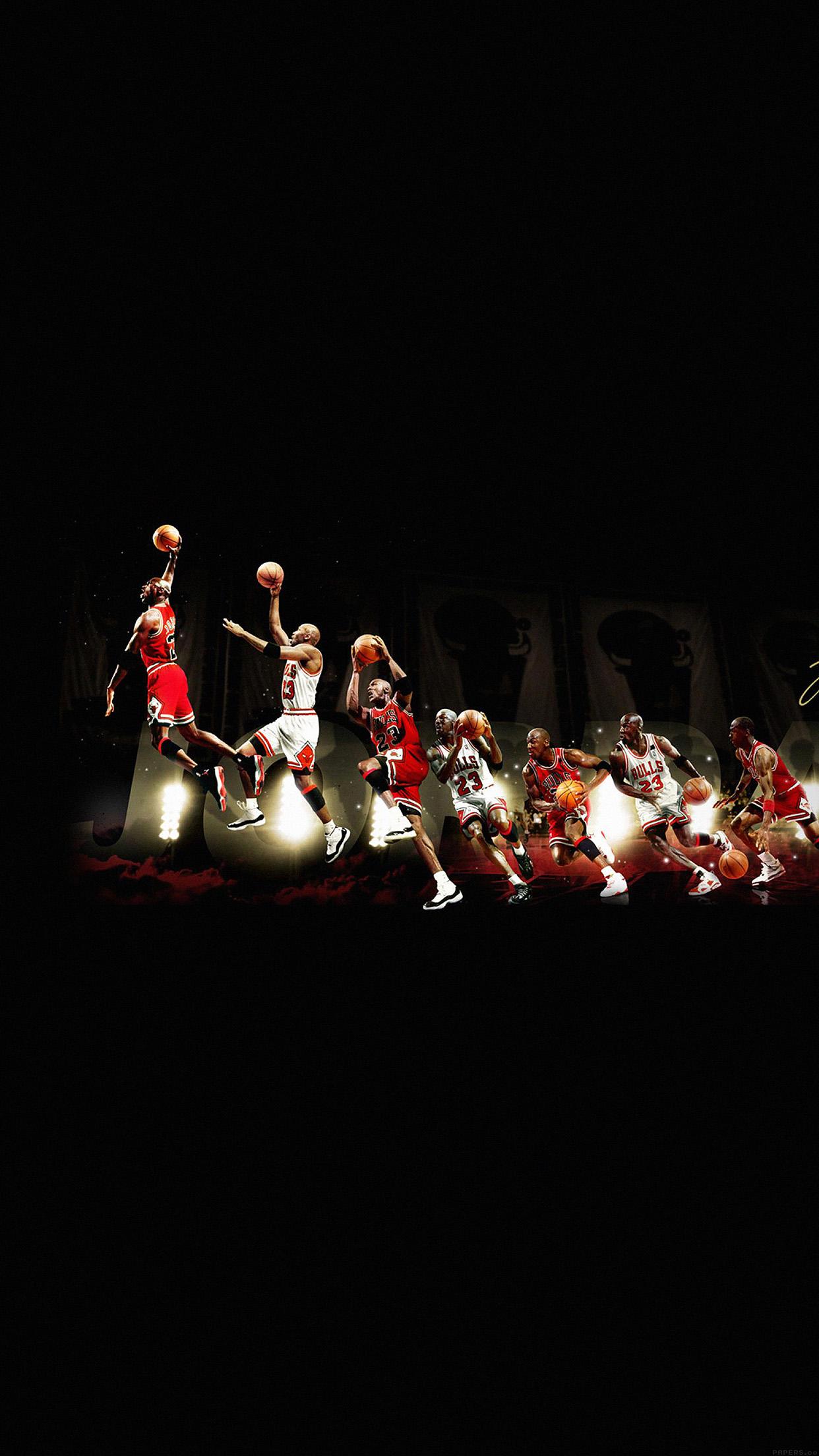 Iphone7papers Hd30 Michael Jordan Dunk Legend Nba Sports