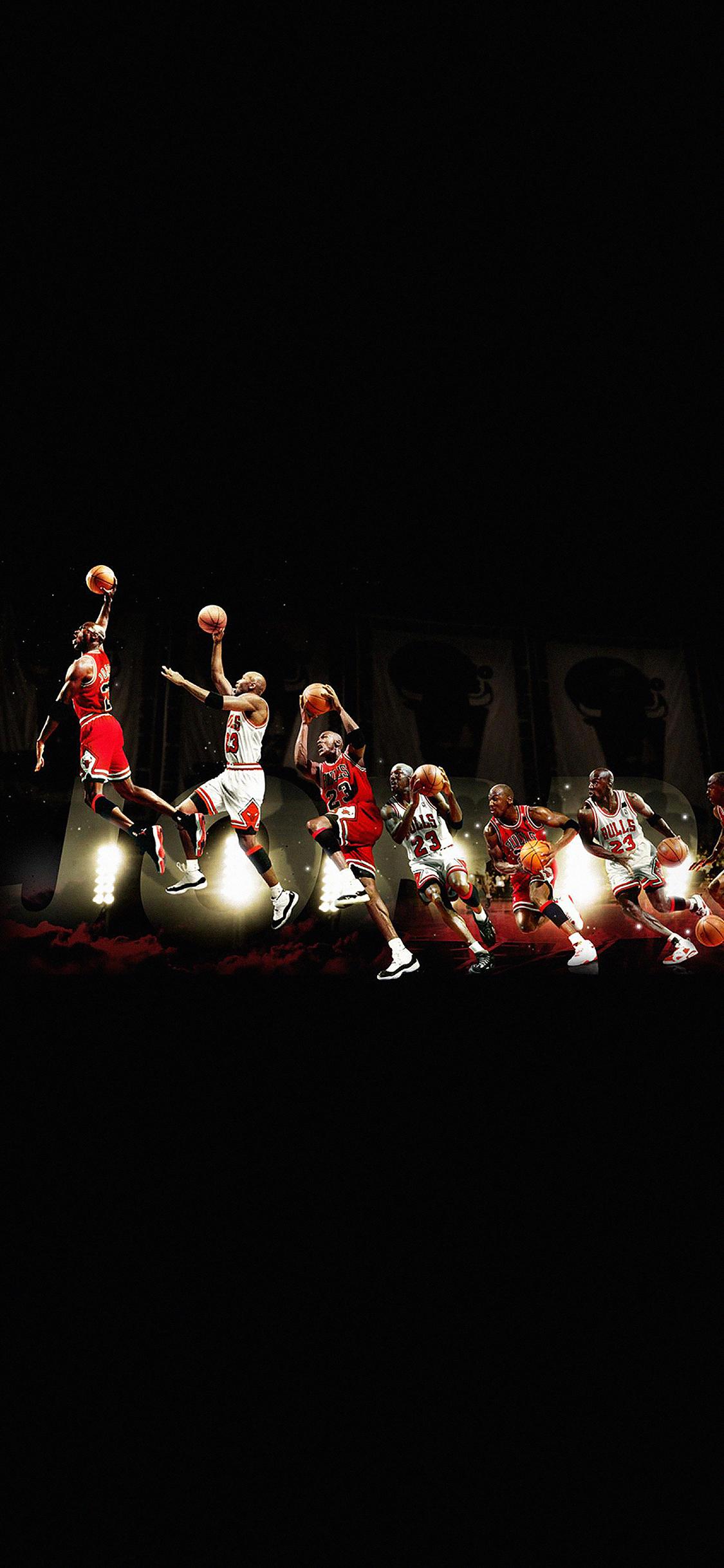 Iphonexpapers Hd30 Michael Jordan Dunk Legend Nba Sports