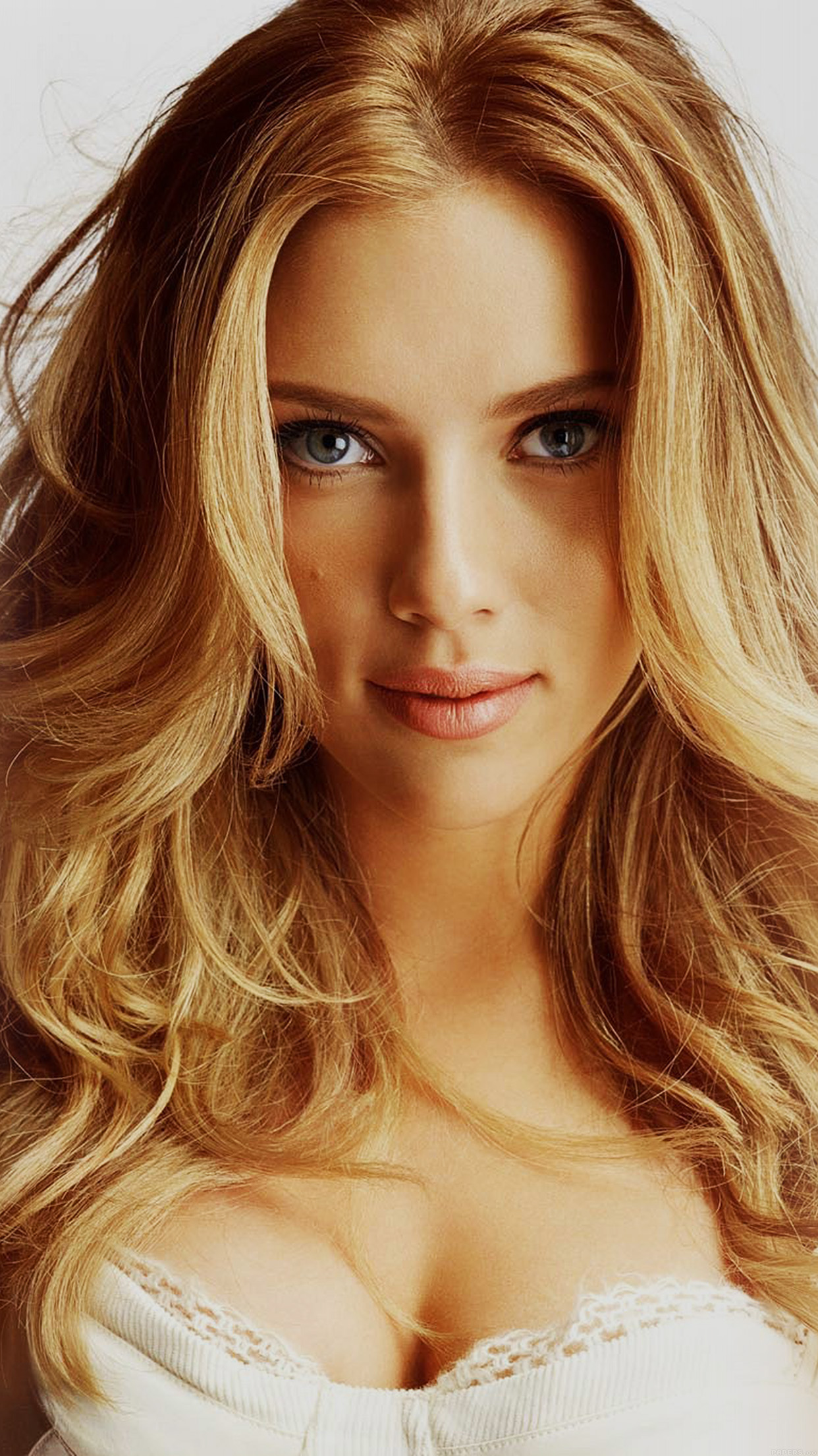 Hd34 Scarlett Johansson Smile Sexy Celebrity