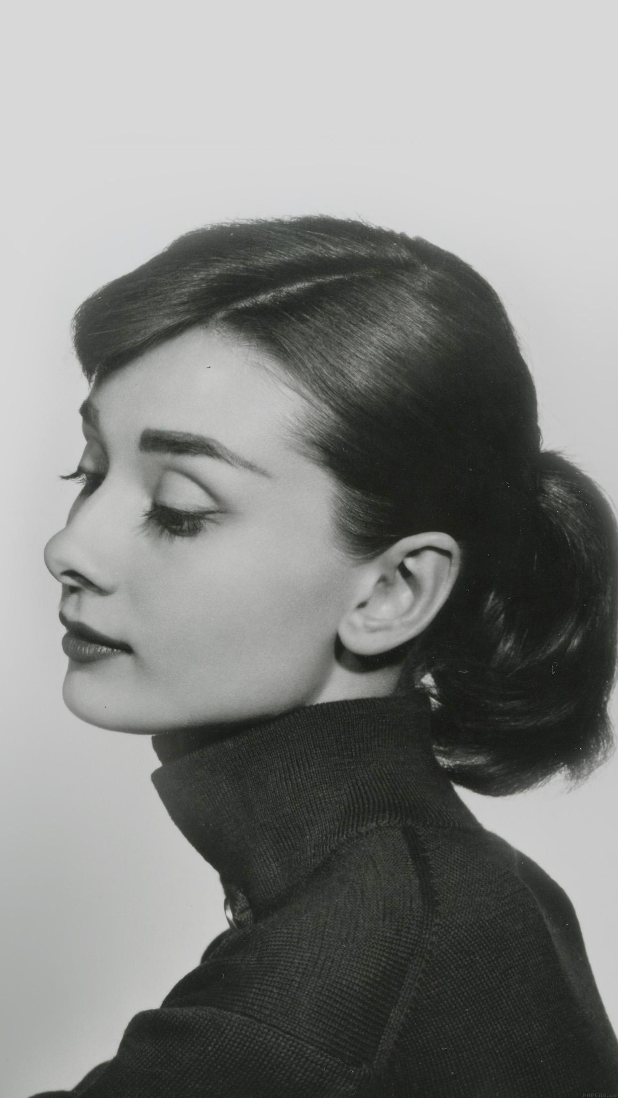 Hd40 Audrey Hapburn Classic Sexy Woman