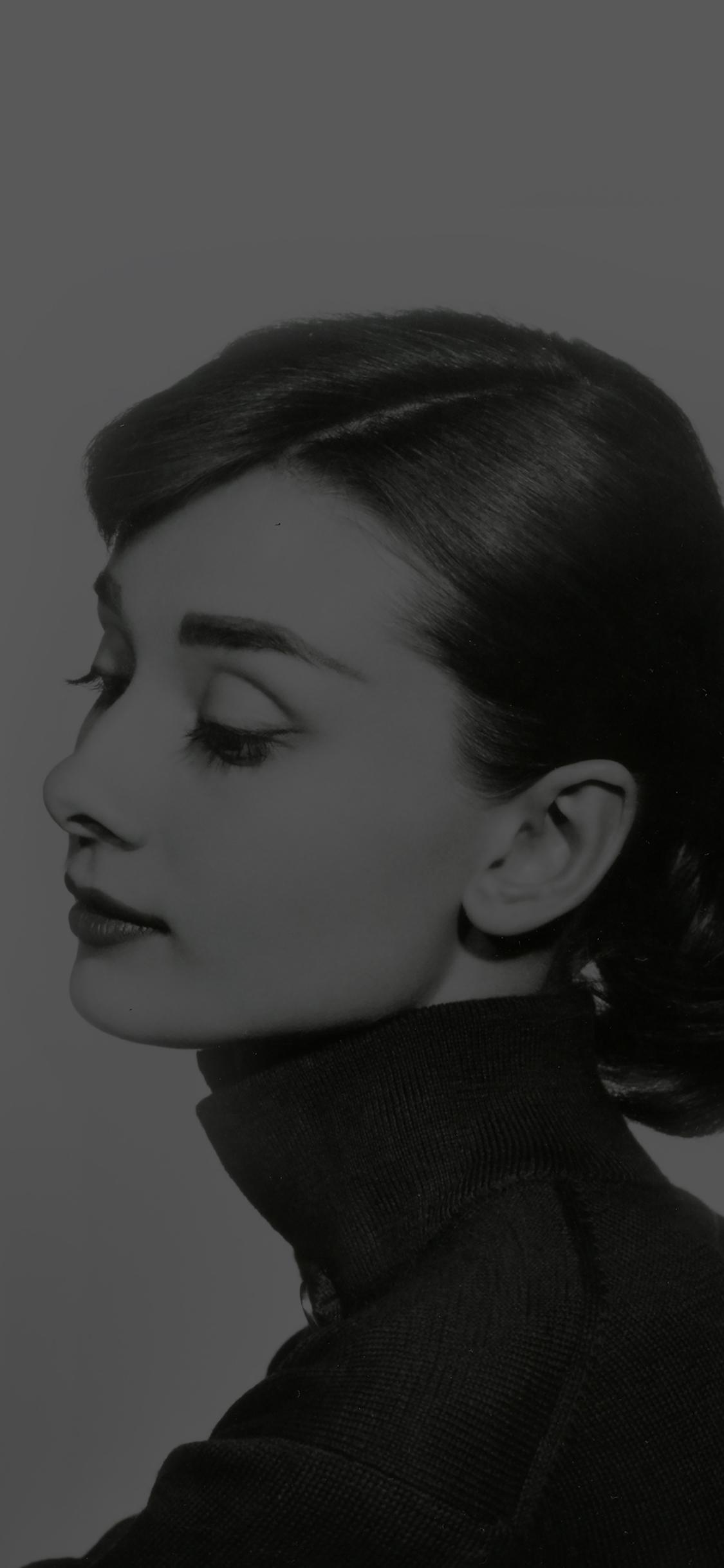 iPhoneXpapers.com-Apple-iPhone-wallpaper-hd45-audrey-hapburn-classic-dark-sexy-woman