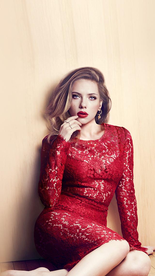 Freeios8 Hd56 Scarlett Johansson Celebrity Sexy Red