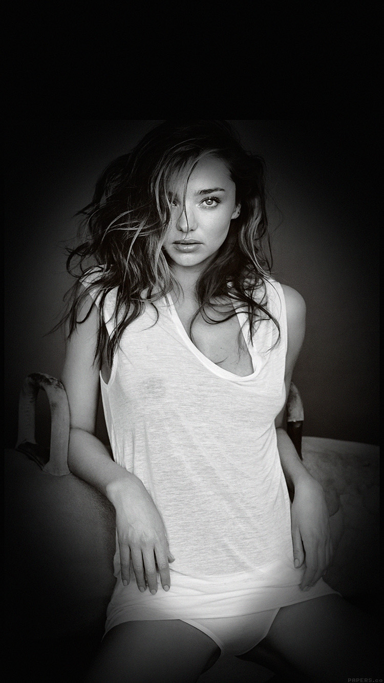 iPhone6papers.co-Apple-iPhone-6-iphone6-plus-wallpaper-hd65-miranda-kerr-home-sexy-model-bw-dark