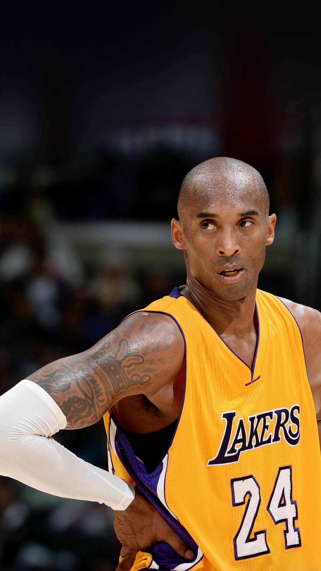 Iphone6papers Hd73 Lakers Kobe Bryant Nba Basketball