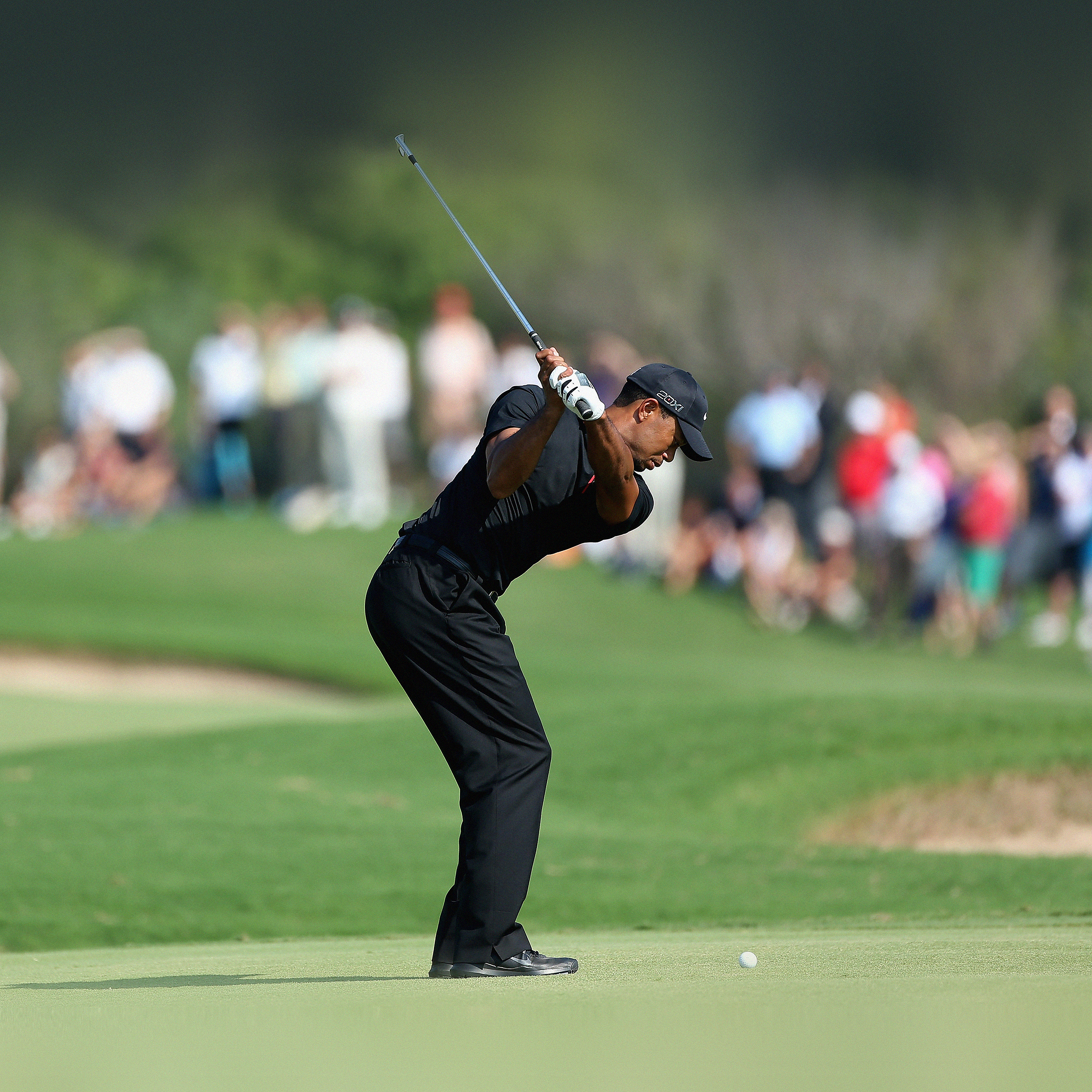 Papers Co Android Wallpaper He35 Tiger Woods Golf Sports
