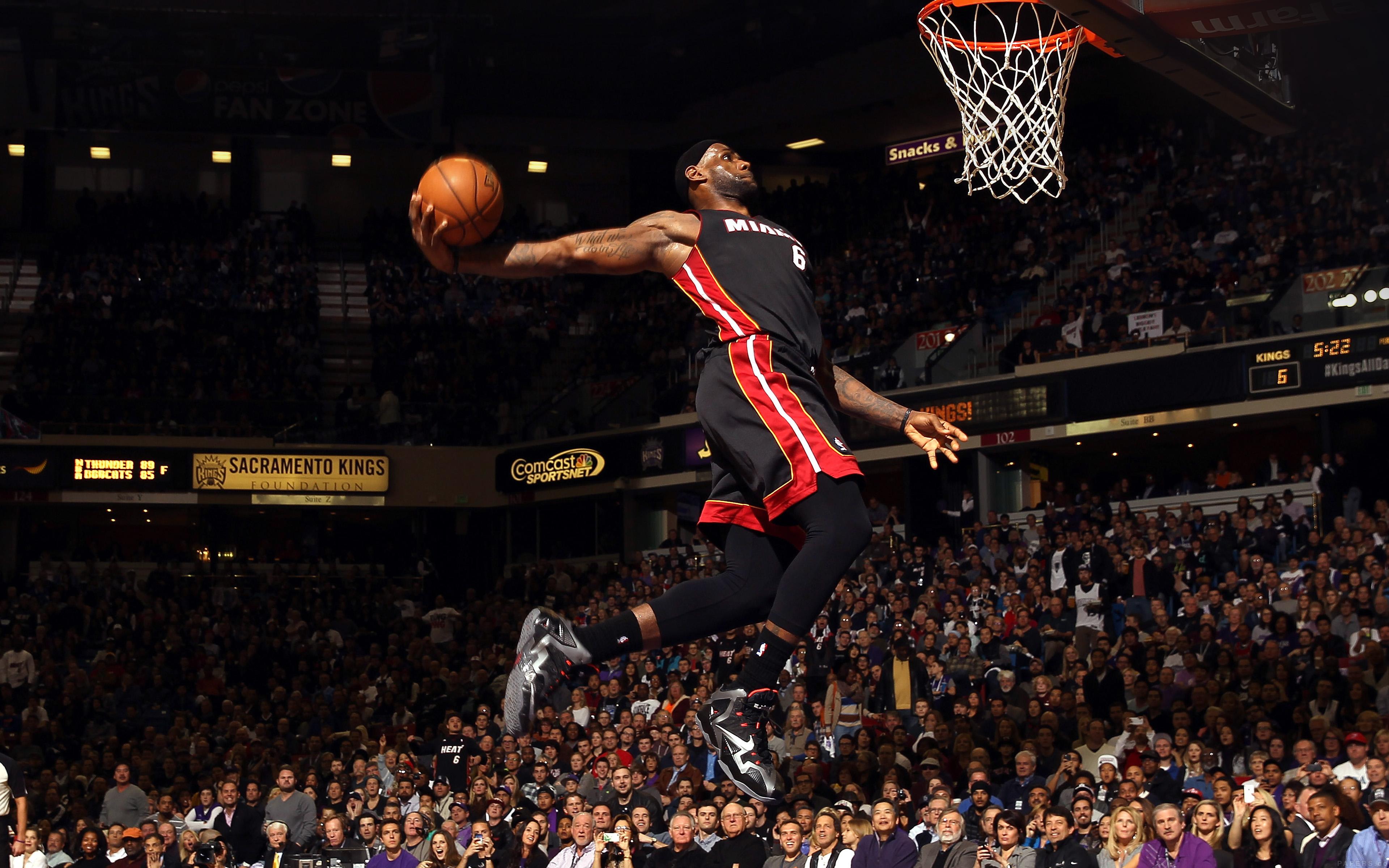 Sport Wallpaper James D Arcy: He99-lebron-james-dunk-nba-sports-art-basketball