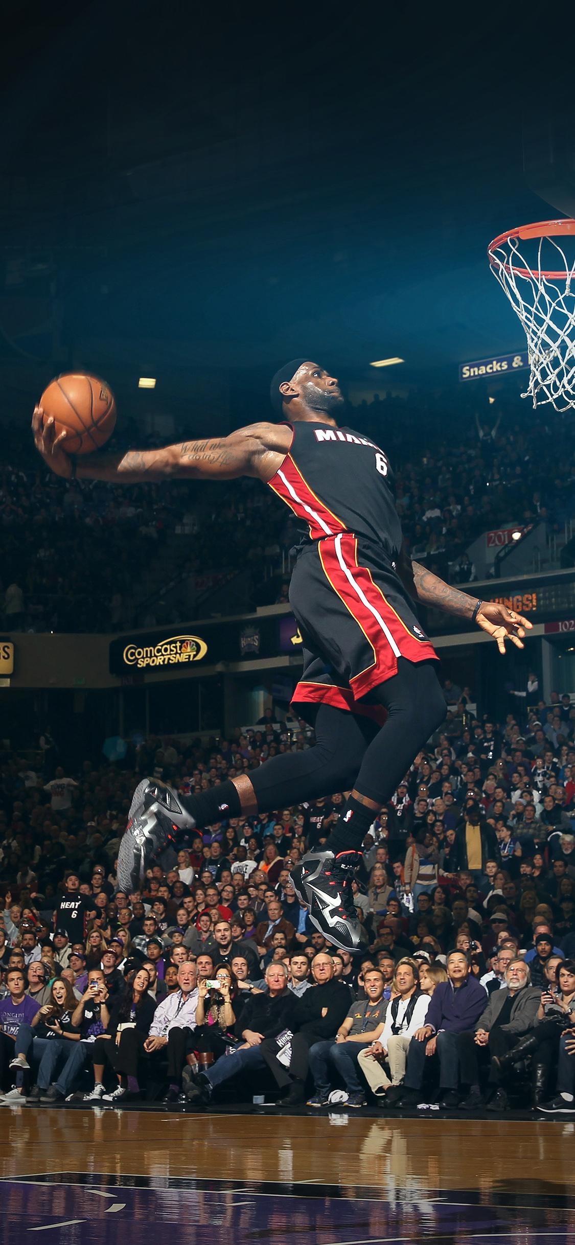 Hf00 Lebron James Dunk Nba Sports Art Flare Basketball Papers Co