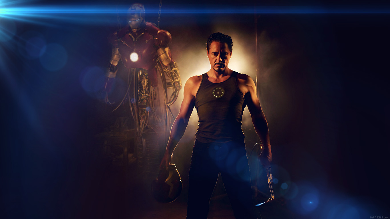 desktop-wallpaper-laptop-mac-macbook-airhf27-ironman-avengers-art-robert-downey-jr-film-flare-wallpaper