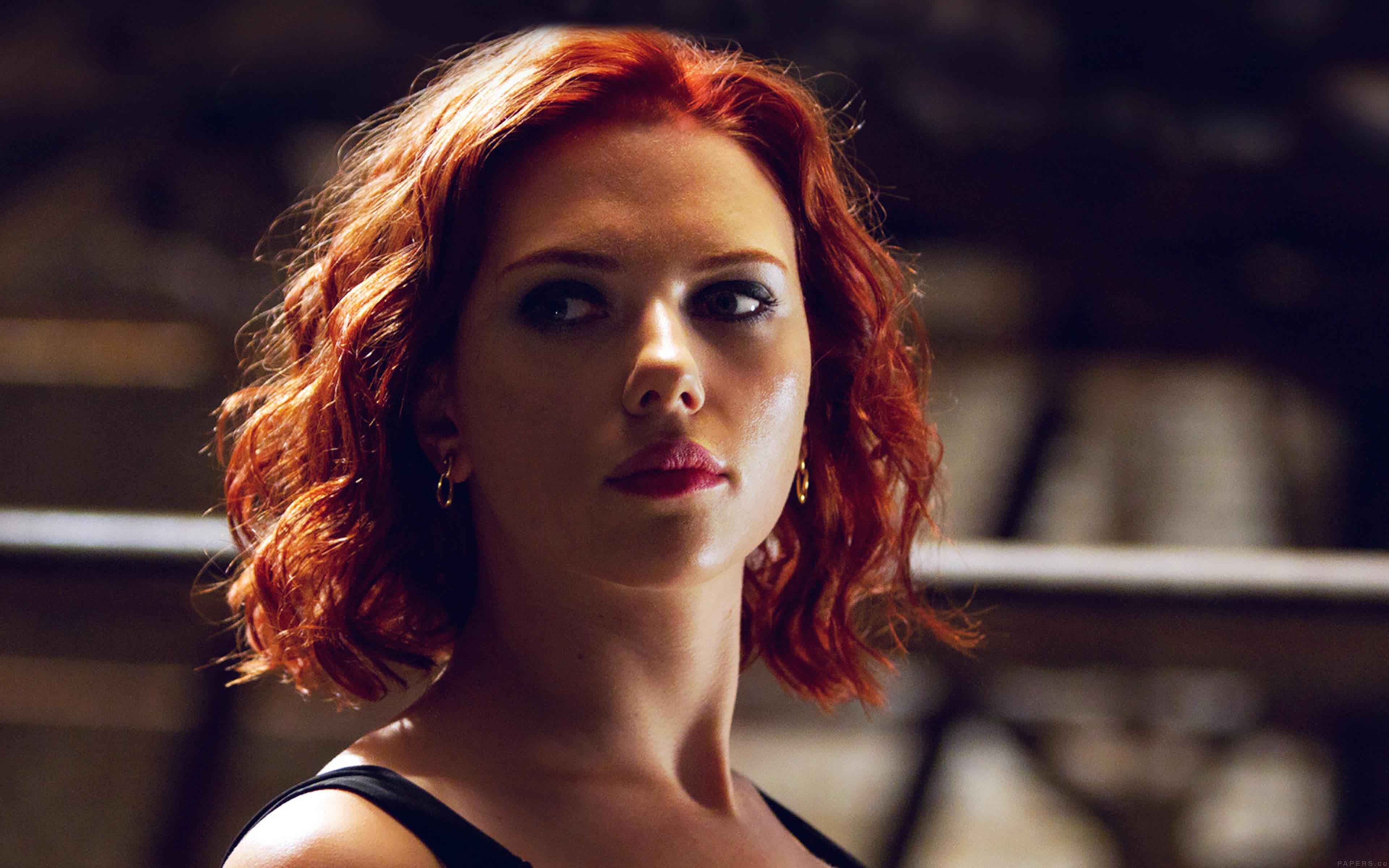 Hf29 Avengers Natasha Scarlett Johansson Sexy Hero