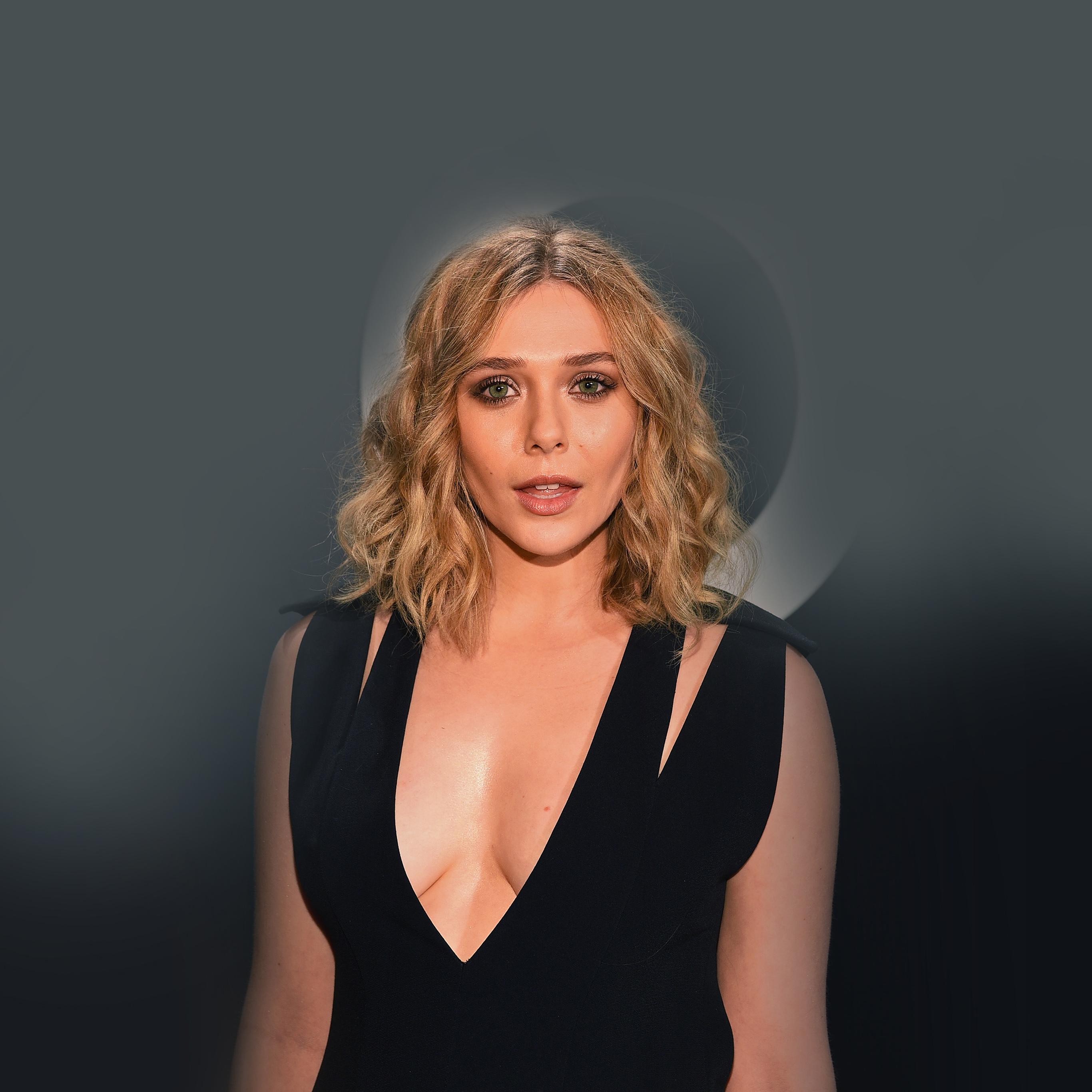 Hf40 Elizabeth Olsen Avengers Scarlett Witch Hero Papers Co