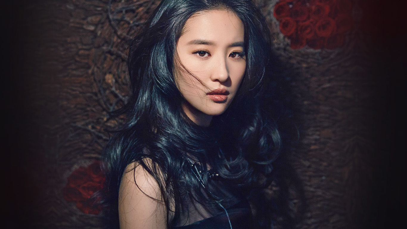 desktop-wallpaper-laptop-mac-macbook-air-hf82-girl-liu-yifei-china-film-actress-model-singer-dark-wallpaper