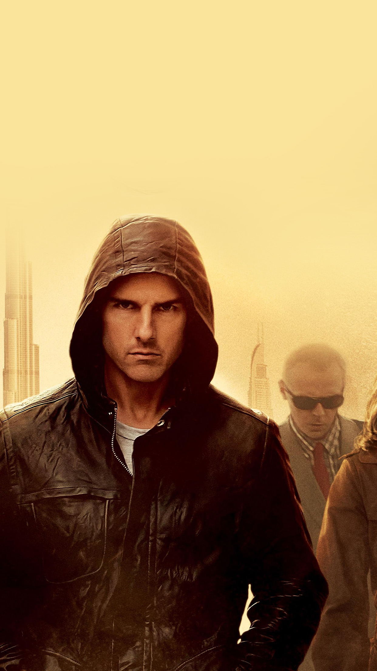 Hg11 Mission Impossible Tom Cruise Film Art Yellow