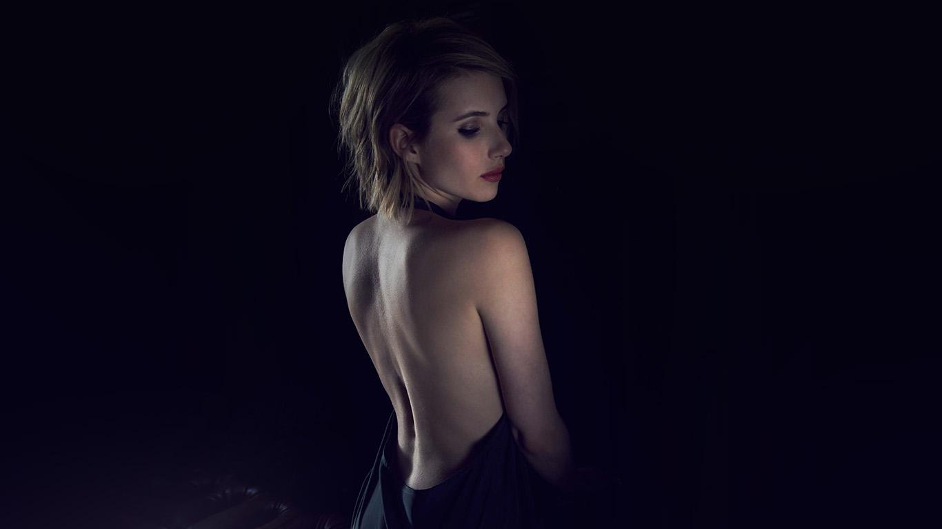 desktop-wallpaper-laptop-mac-macbook-airhg21-emma-roberts-sexy-back-film-actress-wallpaper