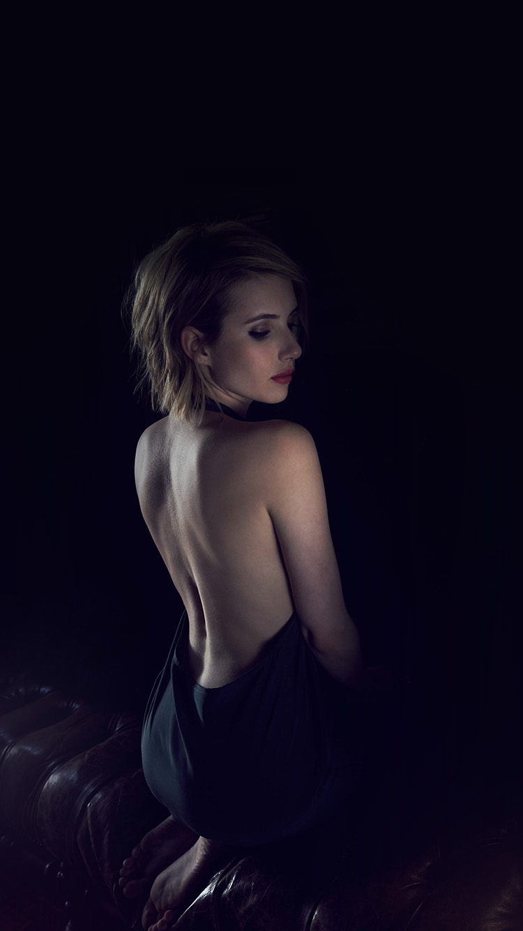 iPhone7papers.com-Apple-iPhone7-iphone7plus-wallpaper-hg21-emma-roberts-sexy-back-film-actress