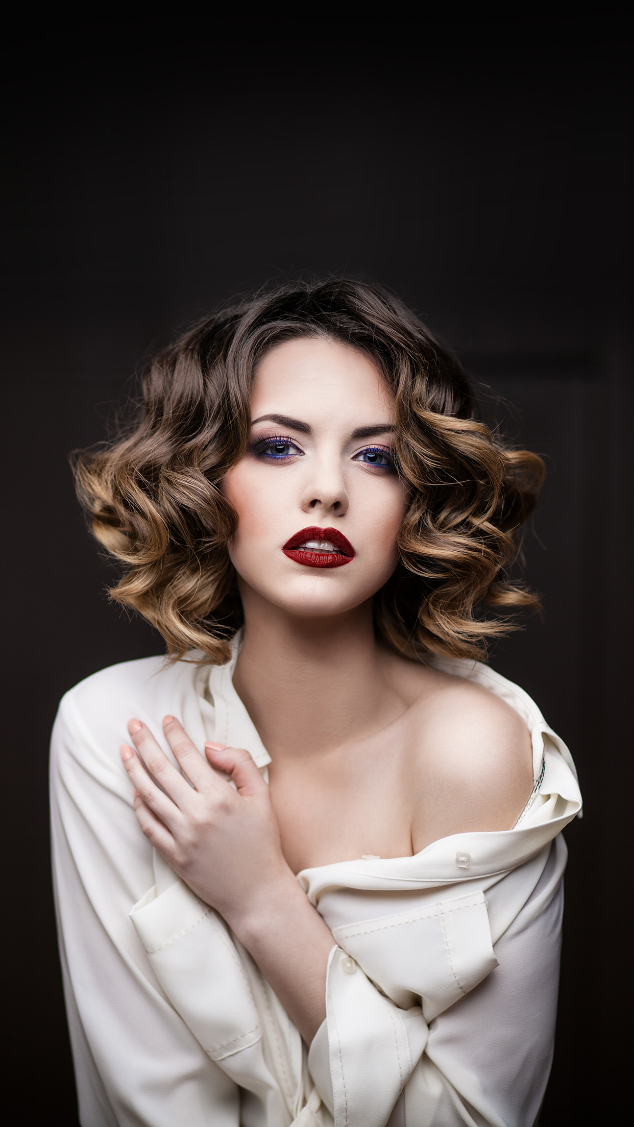 hg25-devushka-model-makiyazh-sexy-girl - Papers.co