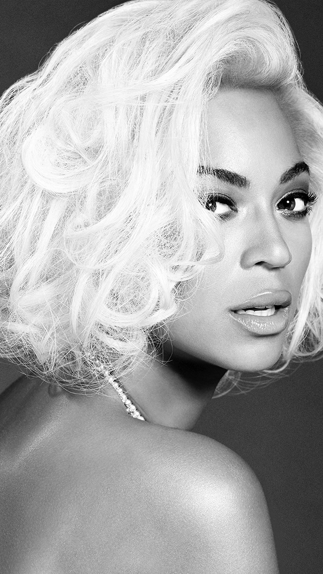 freeios8.com-iphone-4-5-6-plus-ipad-ios8-hg86-beyonce-knowles-music-dark-bw-singer