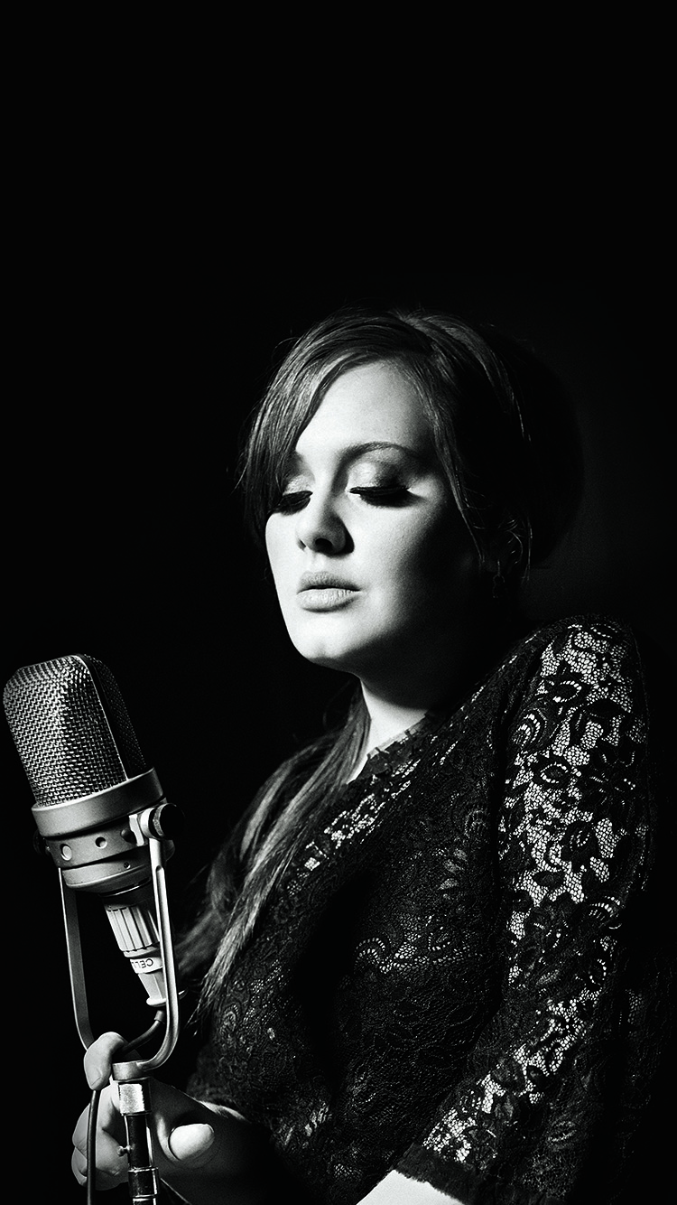 iPhonepapers.com-Apple-iPhone8-wallpaper-hg96-adele-music-singer-dark-bw-celebrity
