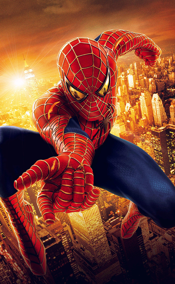 Hg99 Spiderman Illust Art Hero Marvel