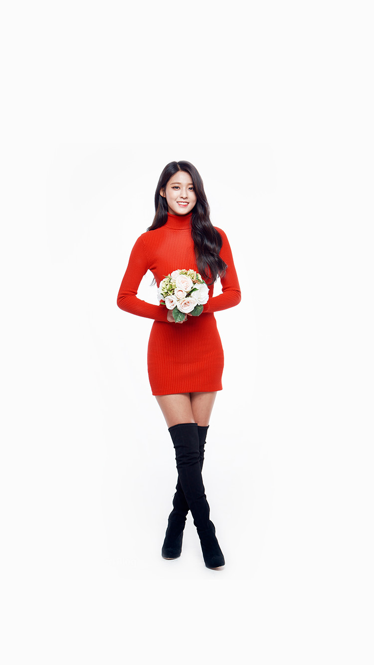 iPhone6papers.co-Apple-iPhone-6-iphone6-plus-wallpaper-hh01-seolhyun-aoa-red-christmas-cute-music-white