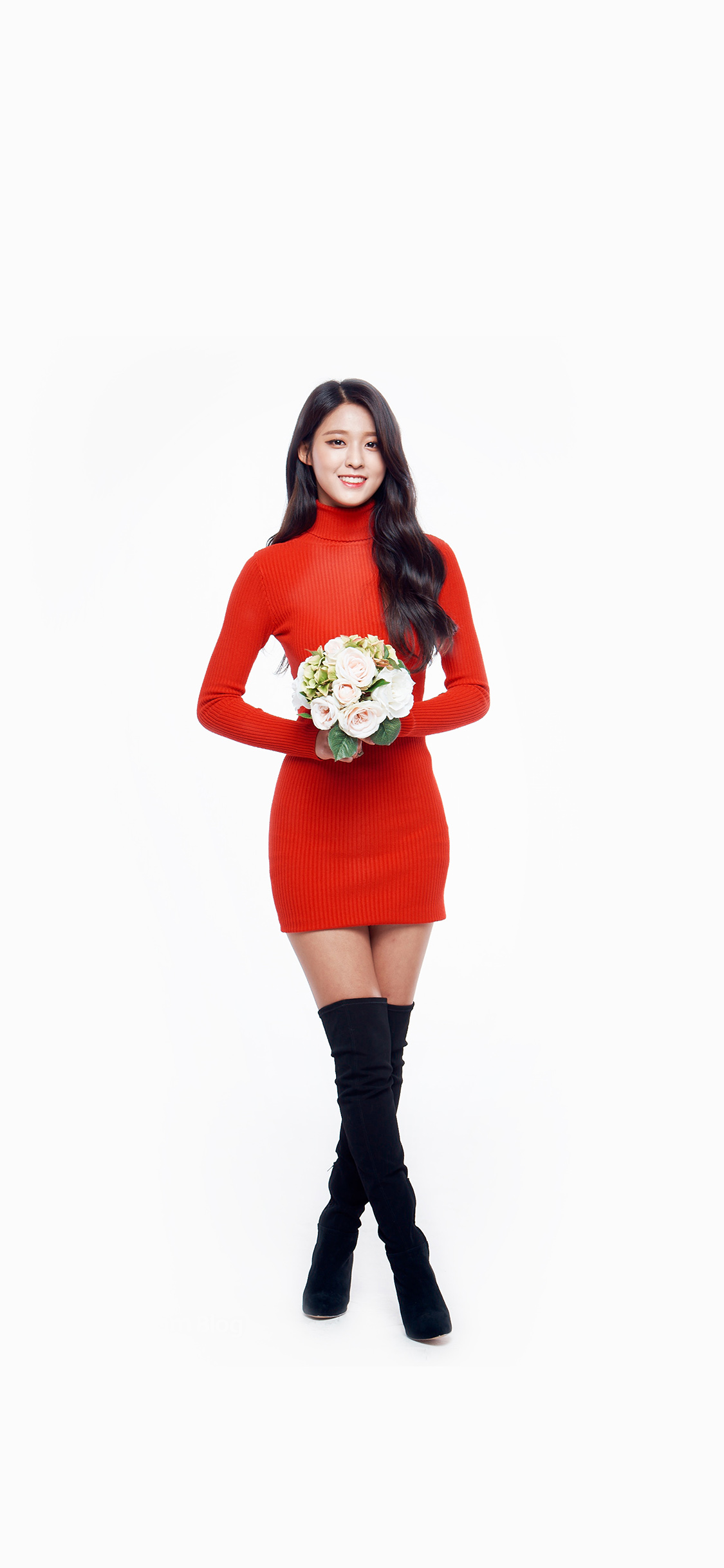 iPhoneXpapers.com | iPhone X wallpaper | hh01-seolhyun-aoa-red ...