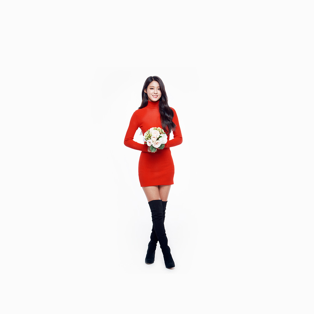 android-wallpaper-hh01-seolhyun-aoa-red-christmas-cute-music-white-wallpaper