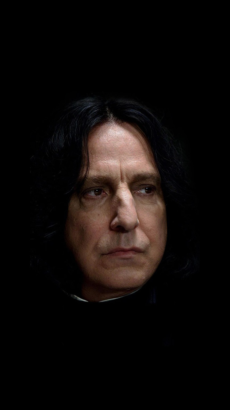 iPhone6papers.co-Apple-iPhone-6-iphone6-plus-wallpaper-hh31-snape-harry-potter-alan-rickman-rip-dark
