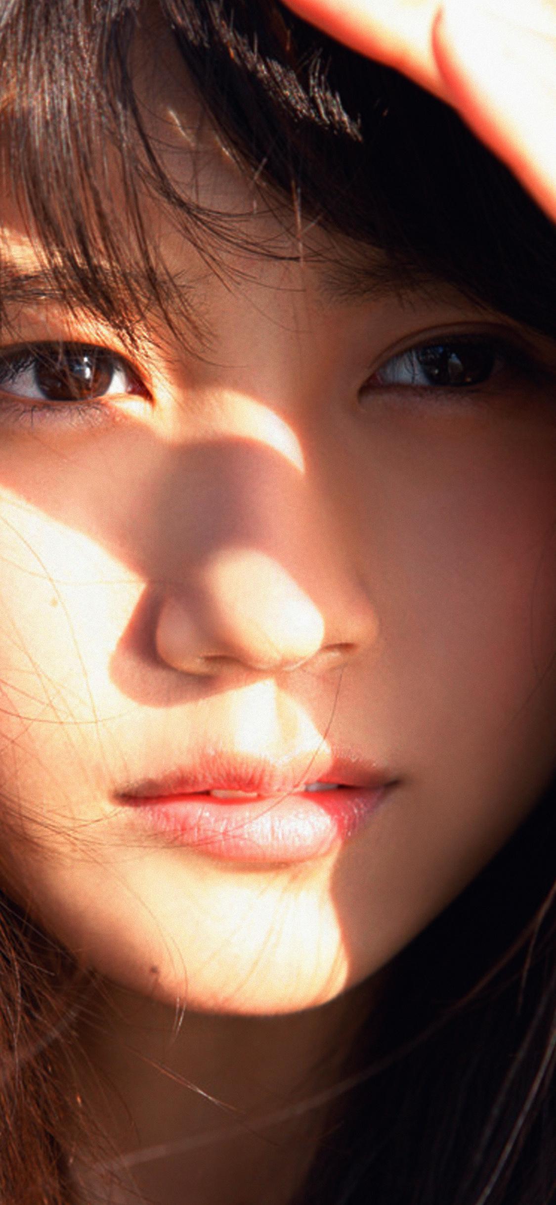 iPhoneXpapers.com-Apple-iPhone-wallpaper-hh55-arimura-kasumi-cute-japan-girl-face-summer