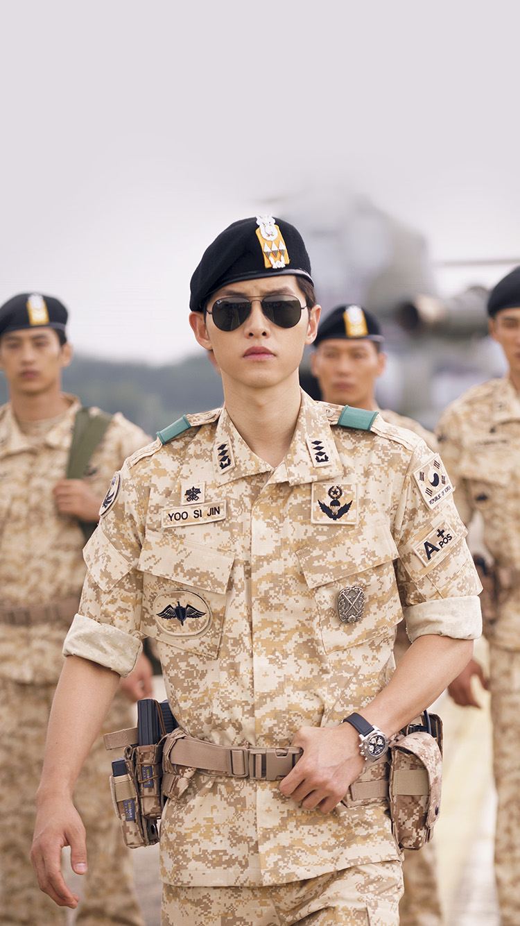 iPhone6papers.co-Apple-iPhone-6-iphone6-plus-wallpaper-hi08-descendants-of-the-sun-heygyo-joonggi-military