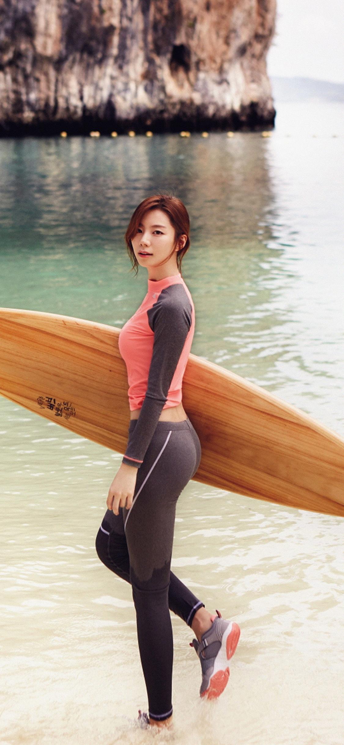 iPhoneXpapers.com-Apple-iPhone-wallpaper-hi12-sujin-beach-swim-vacation-kpop-film