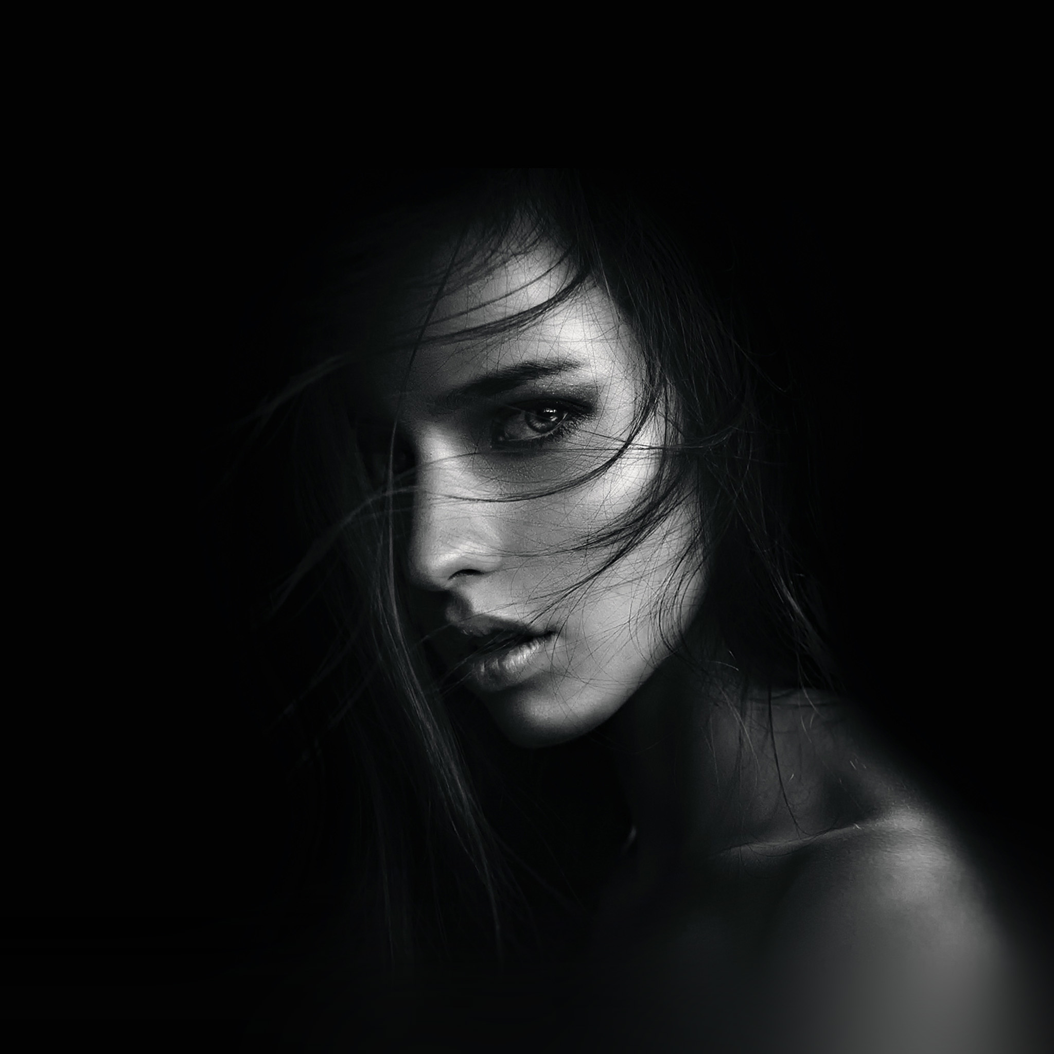 Hi24-dark-girl-face-sexy-wallpaper