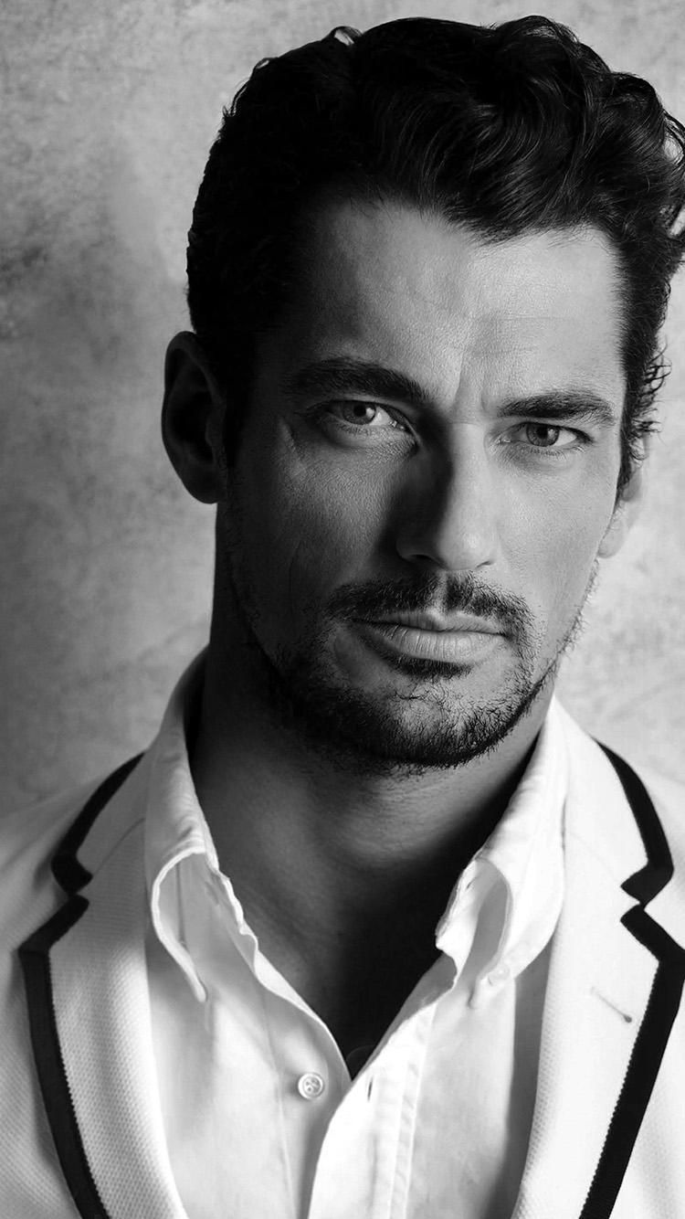 Papers.co-iPhone5-iphone6-plus-wallpaper-hi36-david-gandy-handsome-model-bw-dark