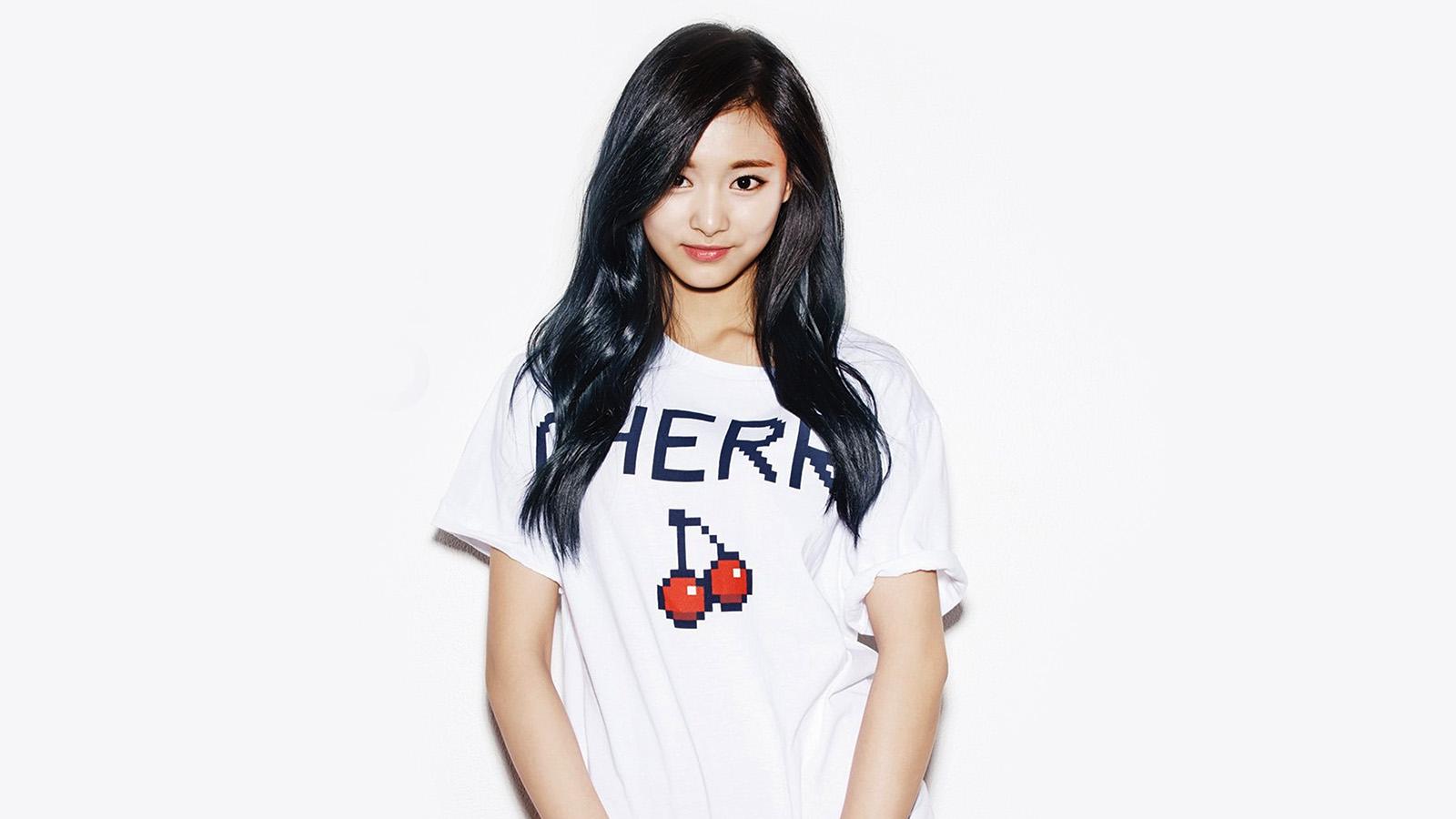 Papers Co Desktop Wallpaper Hi70 Kpop Tzuyu Oh Boy Cute Asian Twice