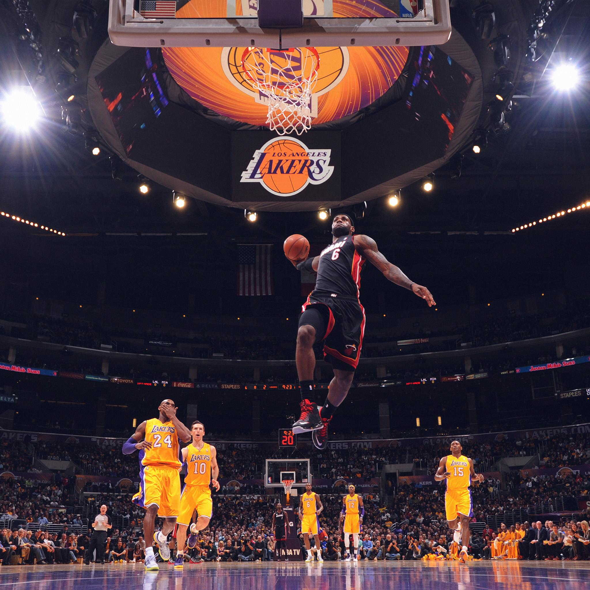 Iphone Wallpaper: Hi84-lebron-james-nba-basketball-dunk-wallpaper