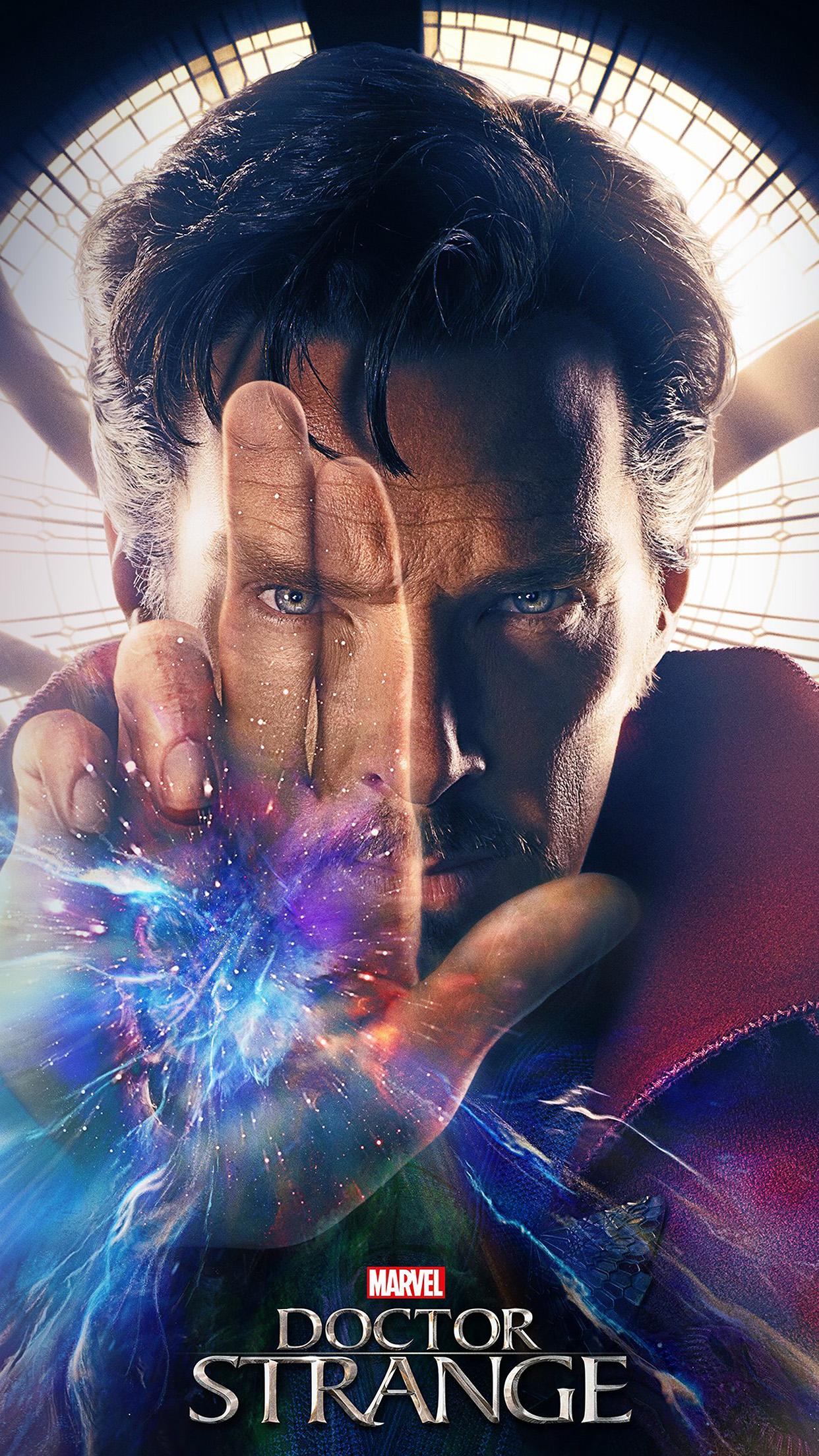 Hi96 Marvel Doctor Strange Art Film Poster Wallpaper