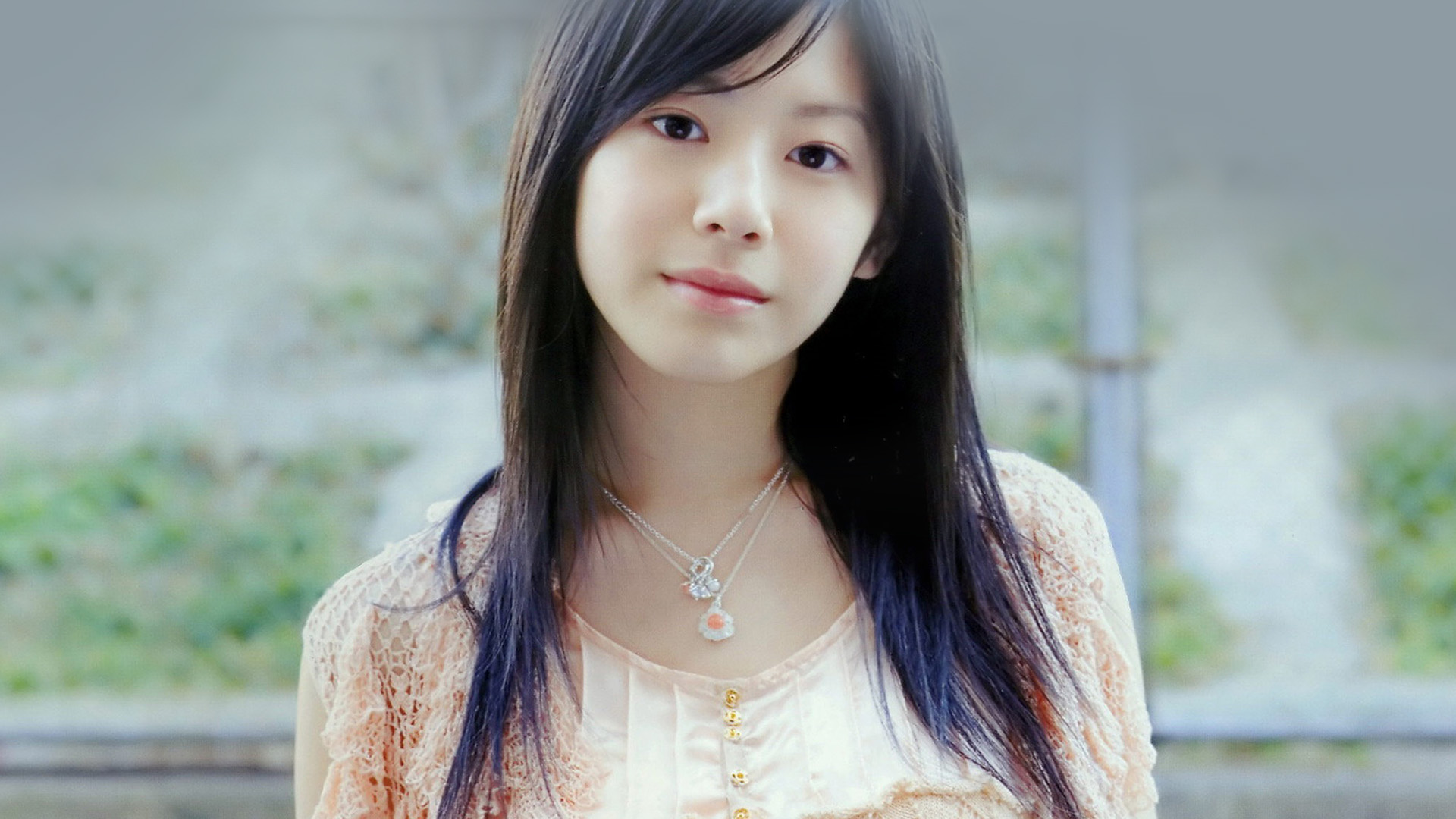 Hj07 Kaho Japanese Girl Actress Wallpaper