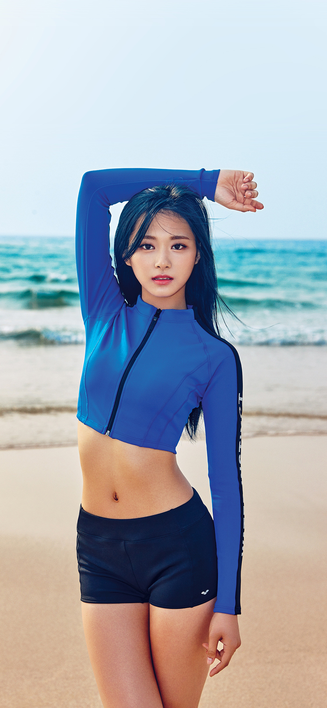 iPhoneXpapers.com-Apple-iPhone-wallpaper-hj09-tzuyu-kpop-girl-sea-summer-cool