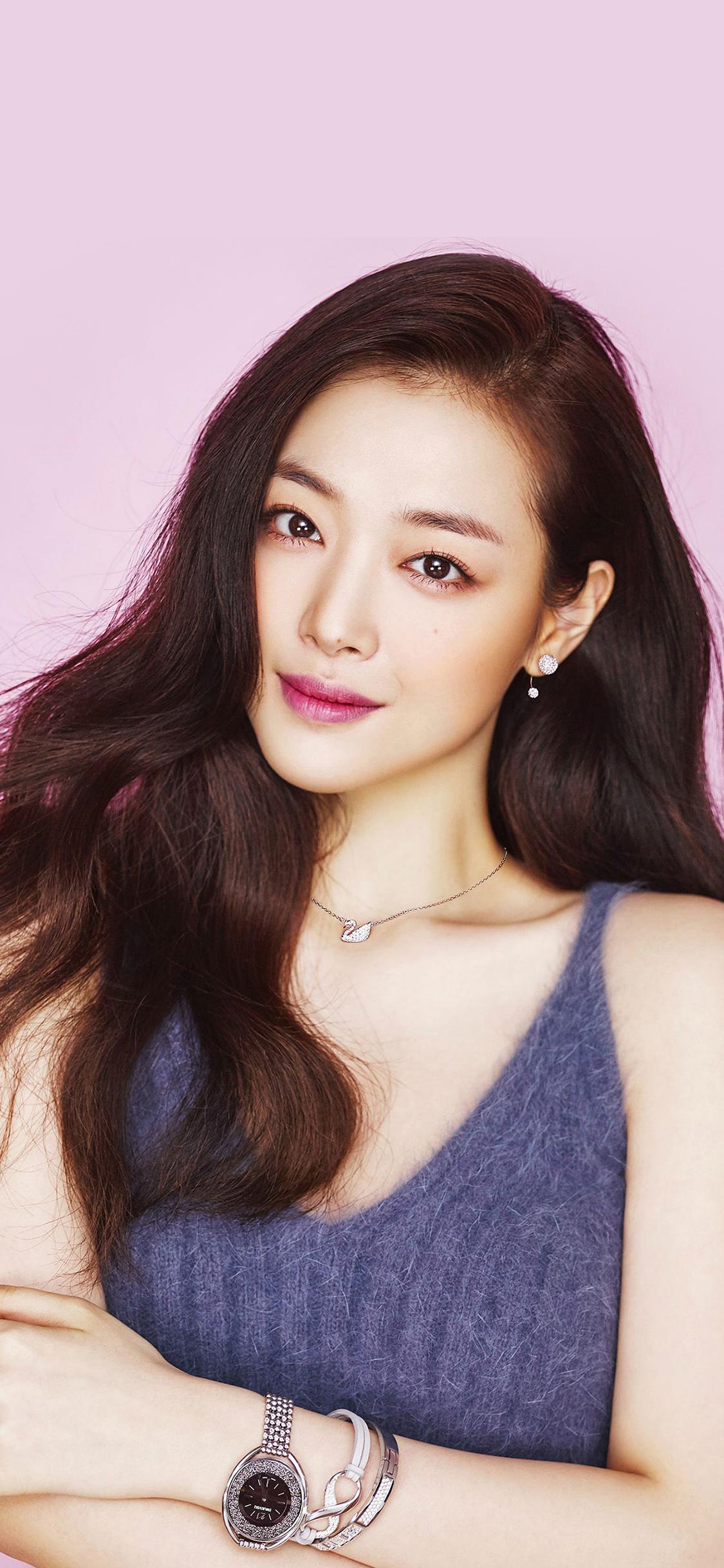 iPhoneXpapers.com-Apple-iPhone-wallpaper-hj13-sulli-kpop-pink-cute-girl-asian