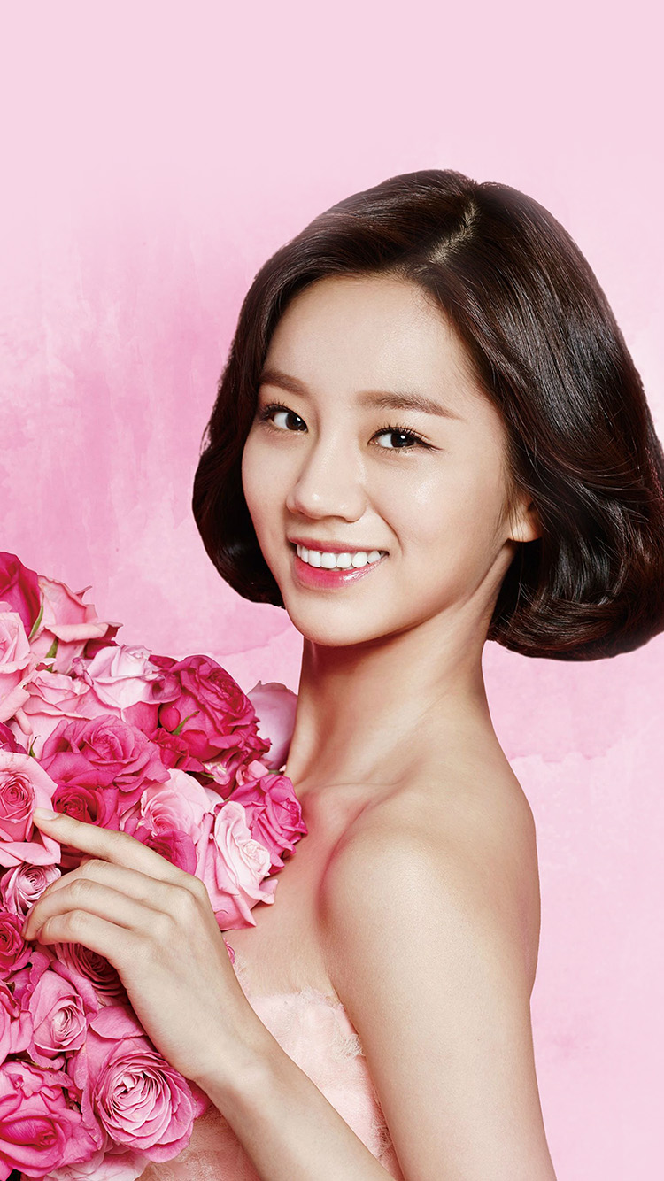 iPhonepapers.com-Apple-iPhone8-wallpaper-hj14-flower-hyeri-cute-pink-kpop-girl