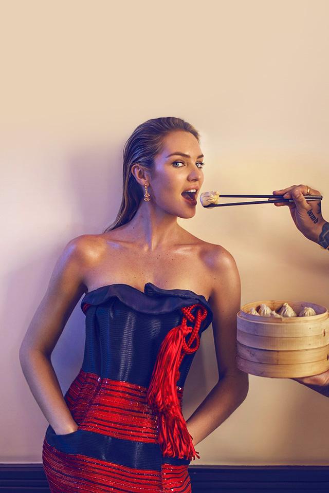 Hj45 Candice Swanepoel Model Victoria Secret Girl Wallpaper