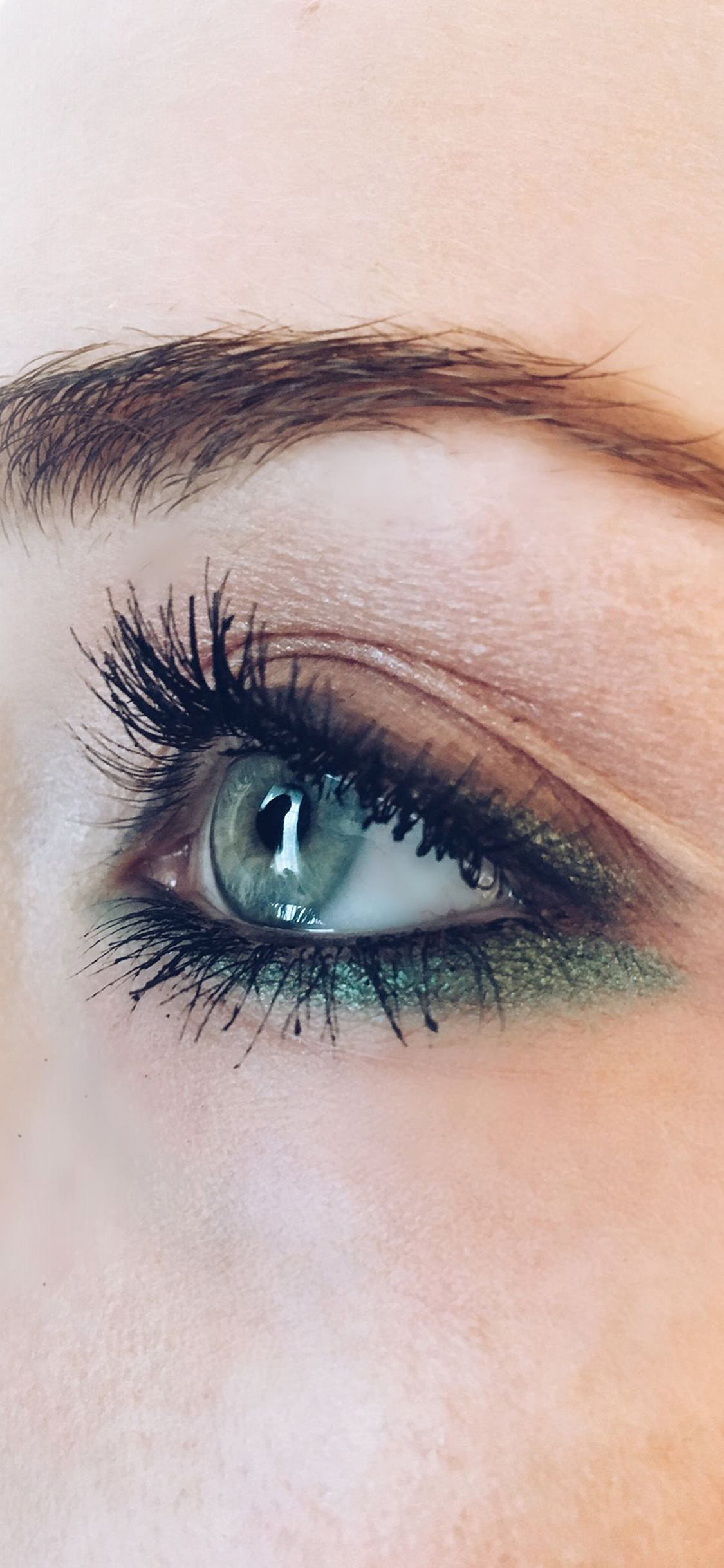 iPhoneXpapers.com-Apple-iPhone-wallpaper-hj55-eye-closeup-blue-makeup-beauty