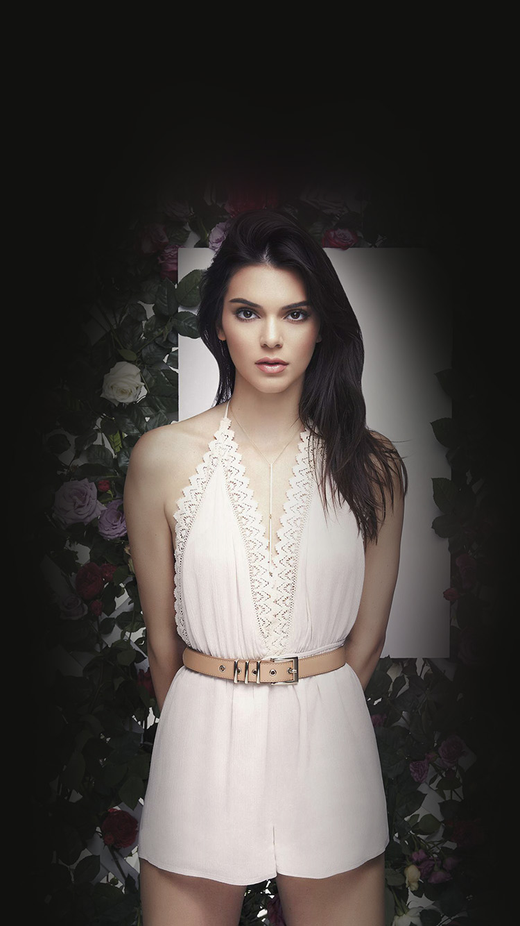 iPhone6papers.co-Apple-iPhone-6-iphone6-plus-wallpaper-hj90-kendall-jenner-flower-dark