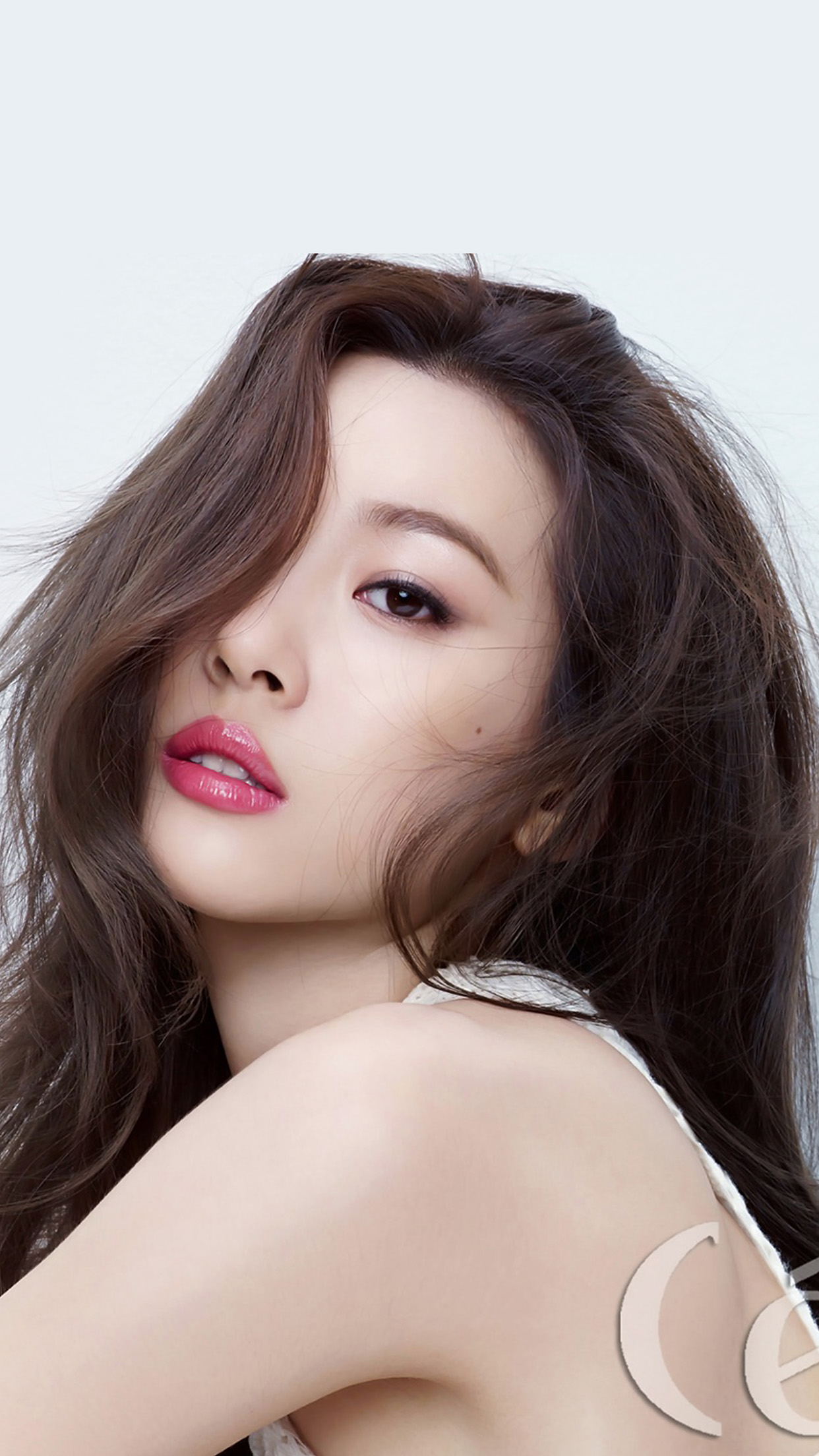 20 Asian Makeup Trends You Need To Try This Year: Hk20-kpop-jyp-girl-white-asian-sunmi-wallpaper