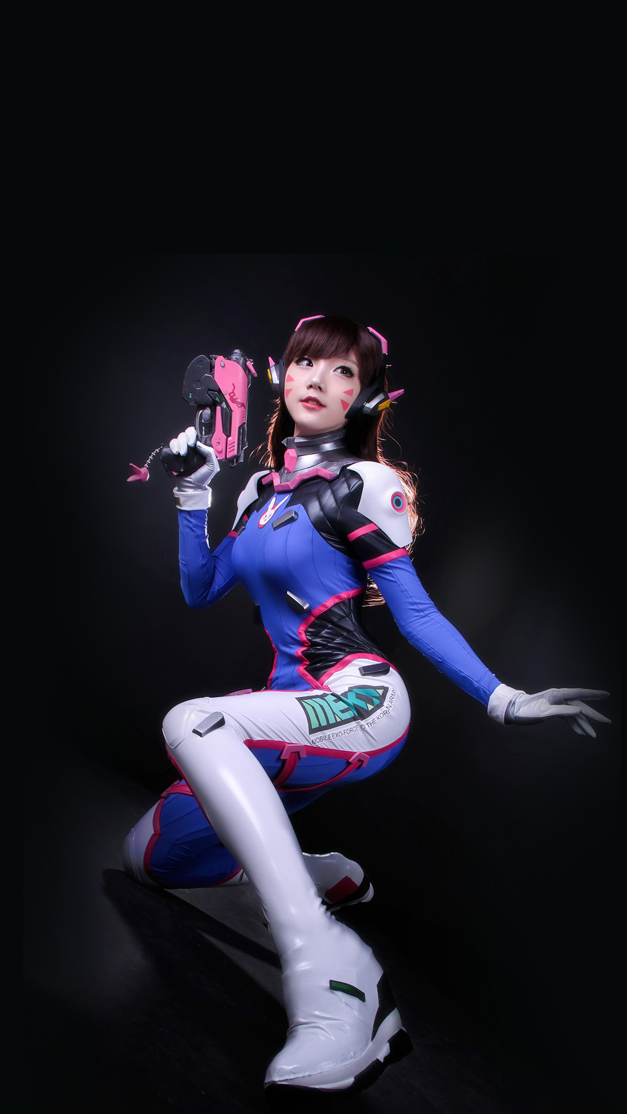 Iphonepapers Com Iphone 8 Wallpaper Hk48 Overwatch Songhana Dva
