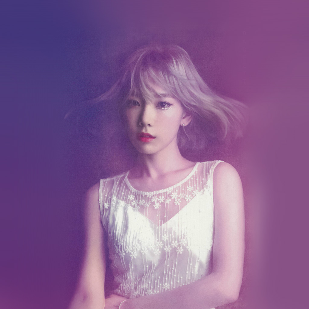 android-wallpaper-hk82-taeyeon-snsd-kpop-girl-purple-pink-wallpaper