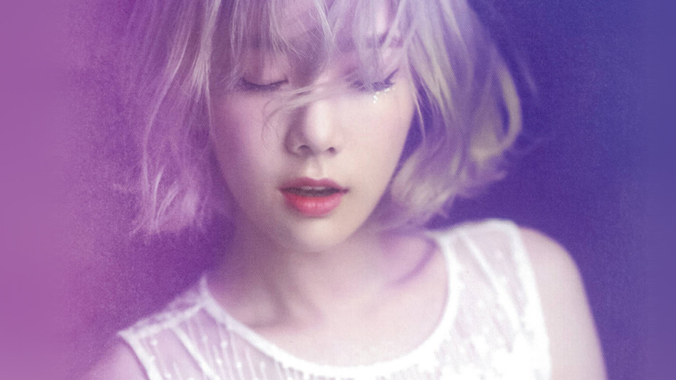 hl10-taeyeon-kpop-snsd-purple-pink-girl-wallpaper