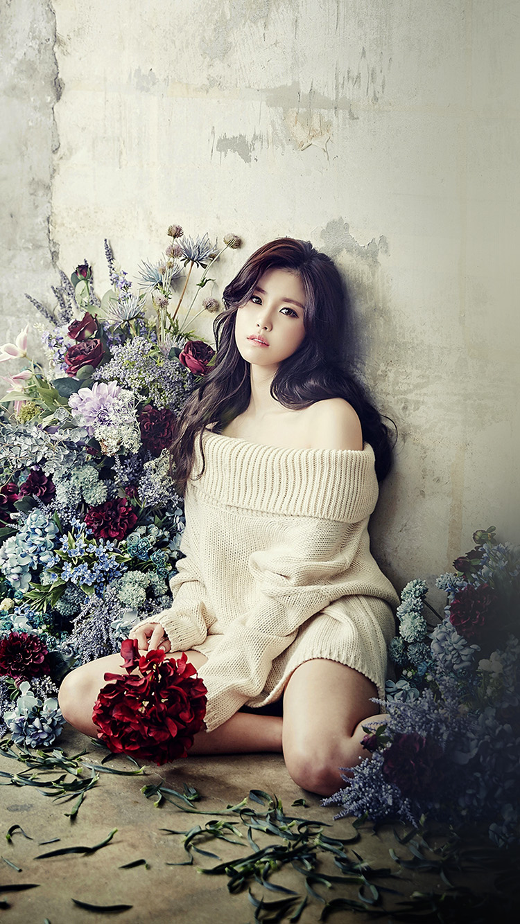 iPhone6papers.co-Apple-iPhone-6-iphone6-plus-wallpaper-hl29-flower-girl-hyosung-girl-kpop-celebrity