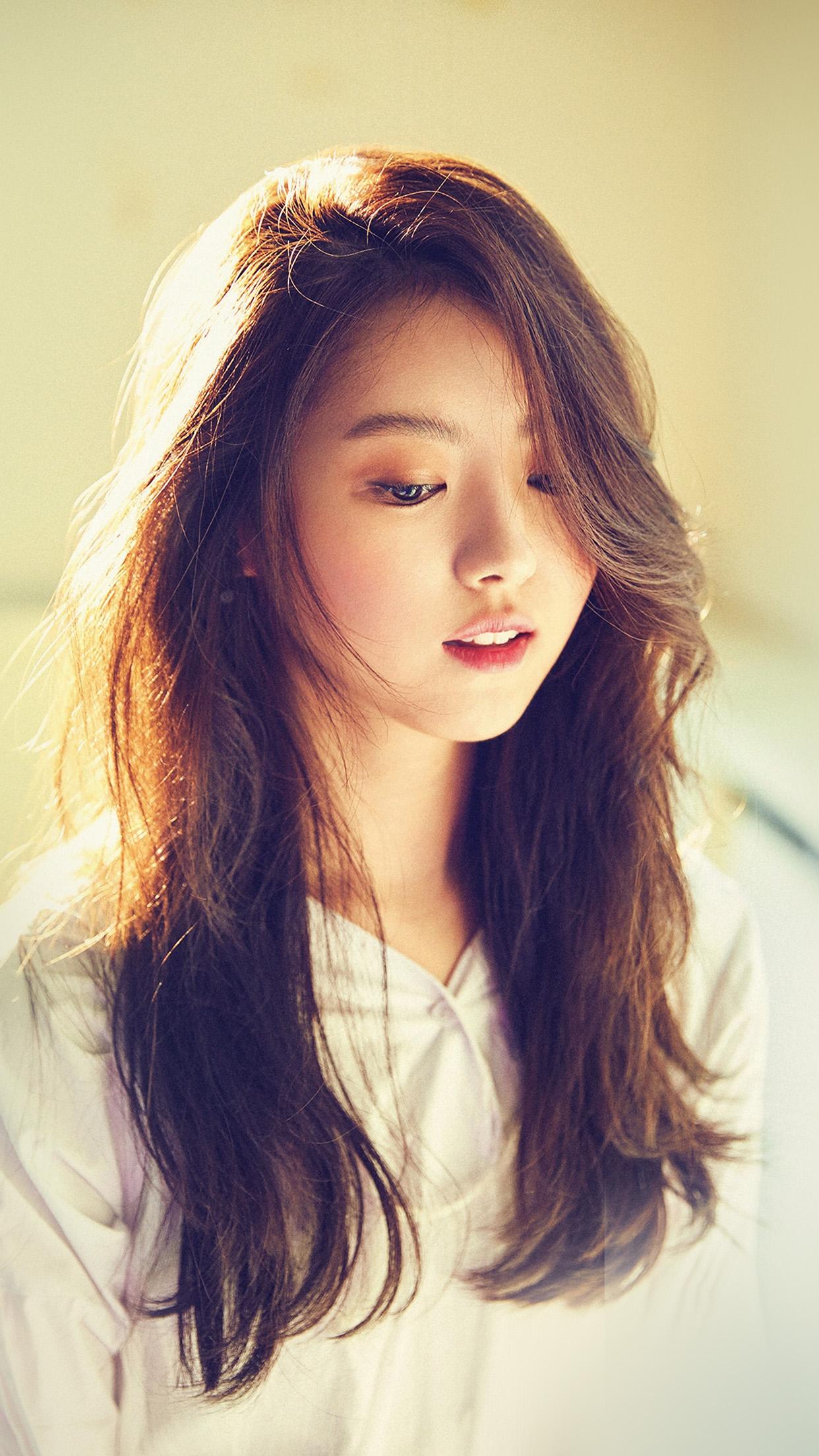 Hl31 Girl Kpop Bokeh Cute