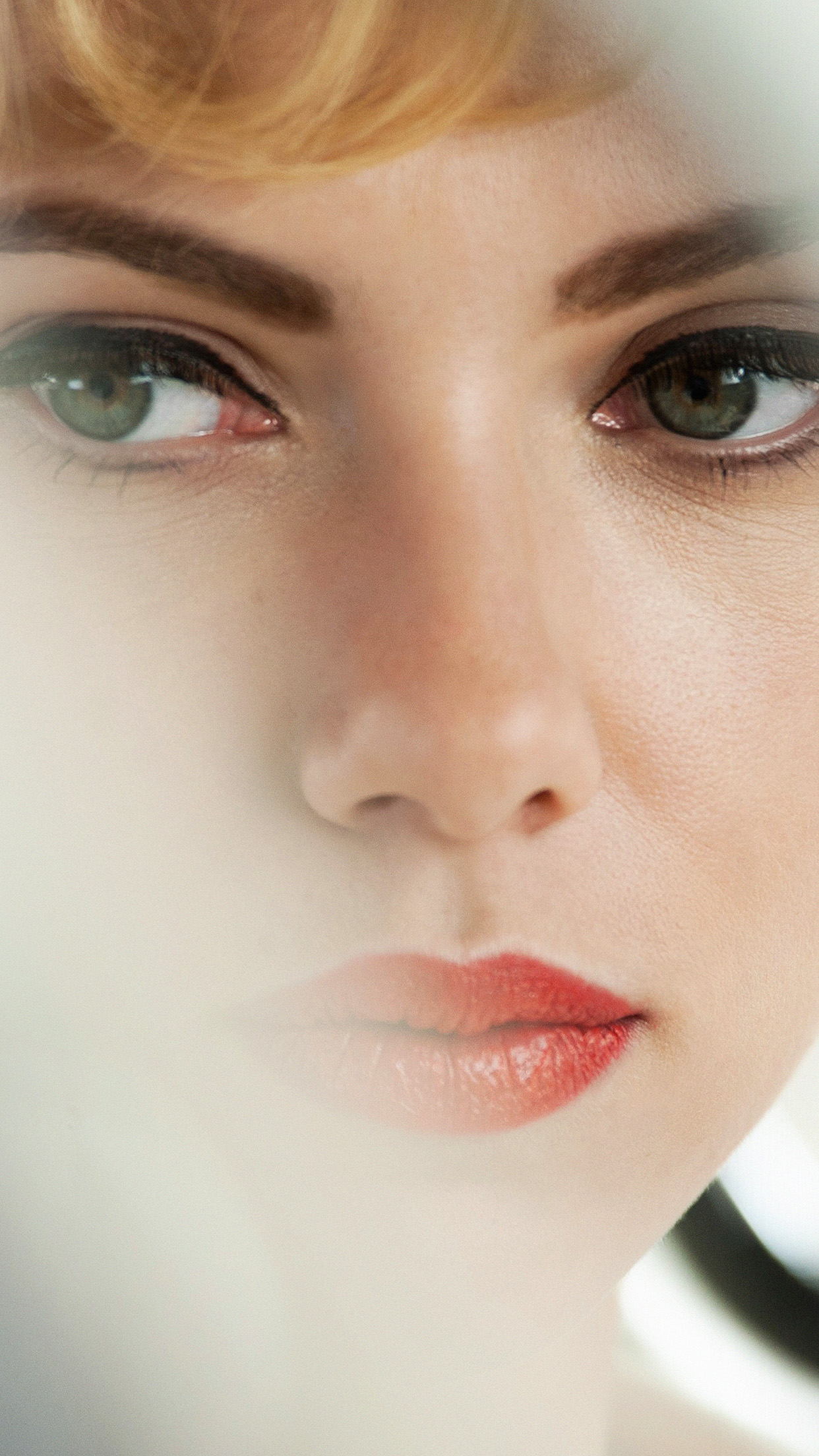 Hl34 Scarlett Johansson Face Actress Celebrity
