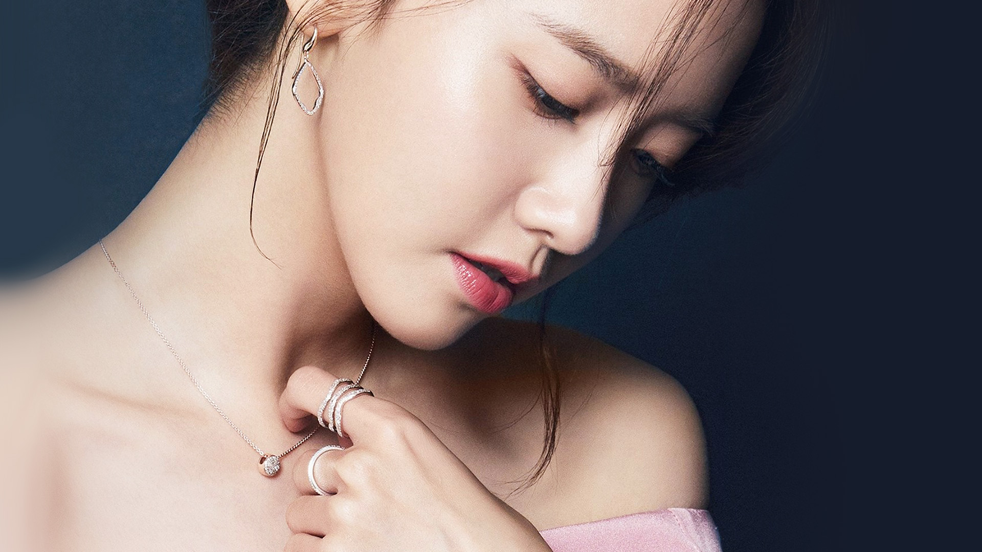 Hl48 kpop yuna girl blue wallpaper - Yuna wallpaper ...