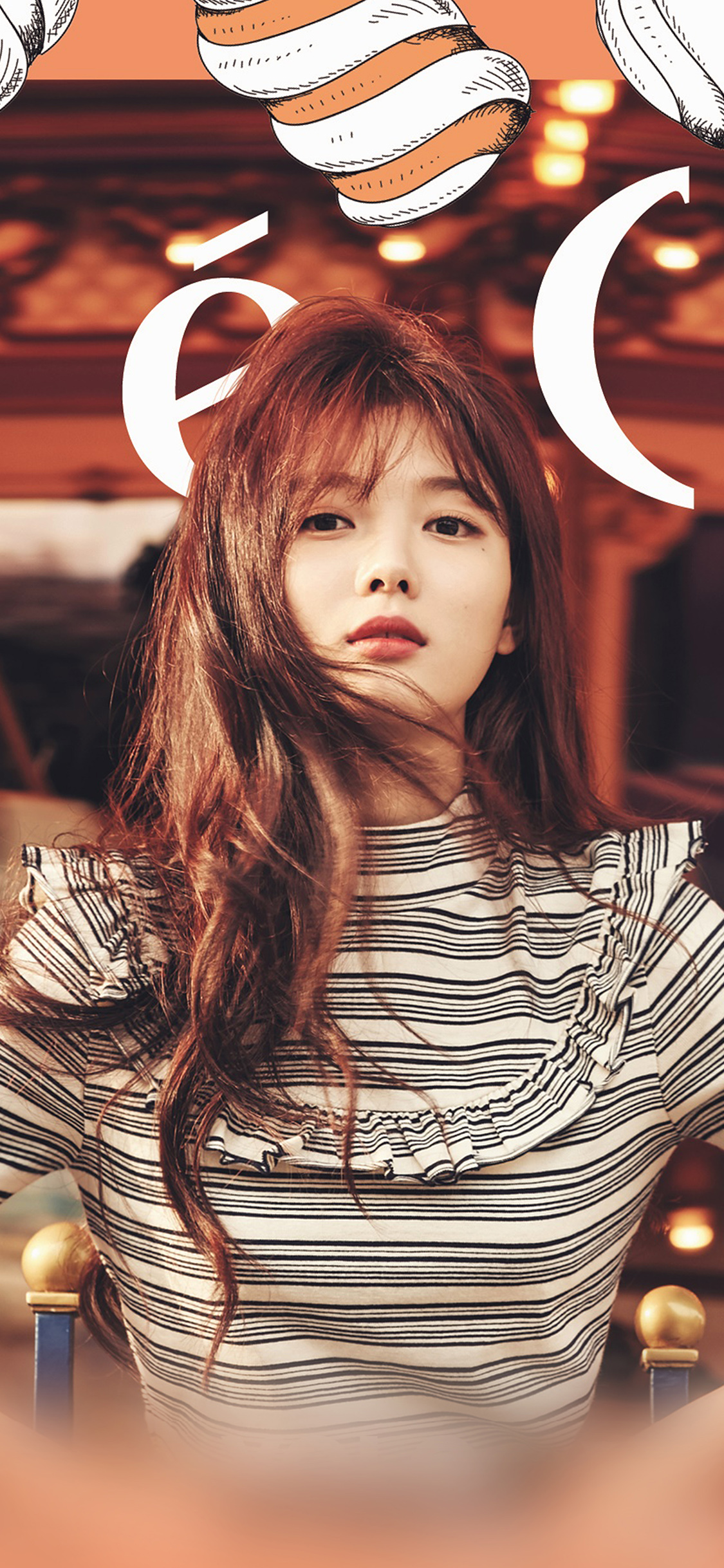 iPhoneXpapers.com-Apple-iPhone-wallpaper-hl57-yoojung-kpop-girl-orange-ceci-model